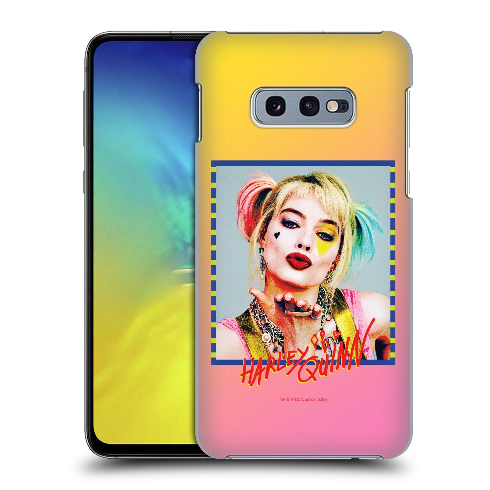 Pouzdro na mobil Samsung Galaxy S10e - HEAD CASE - DC komix Harely Quinn