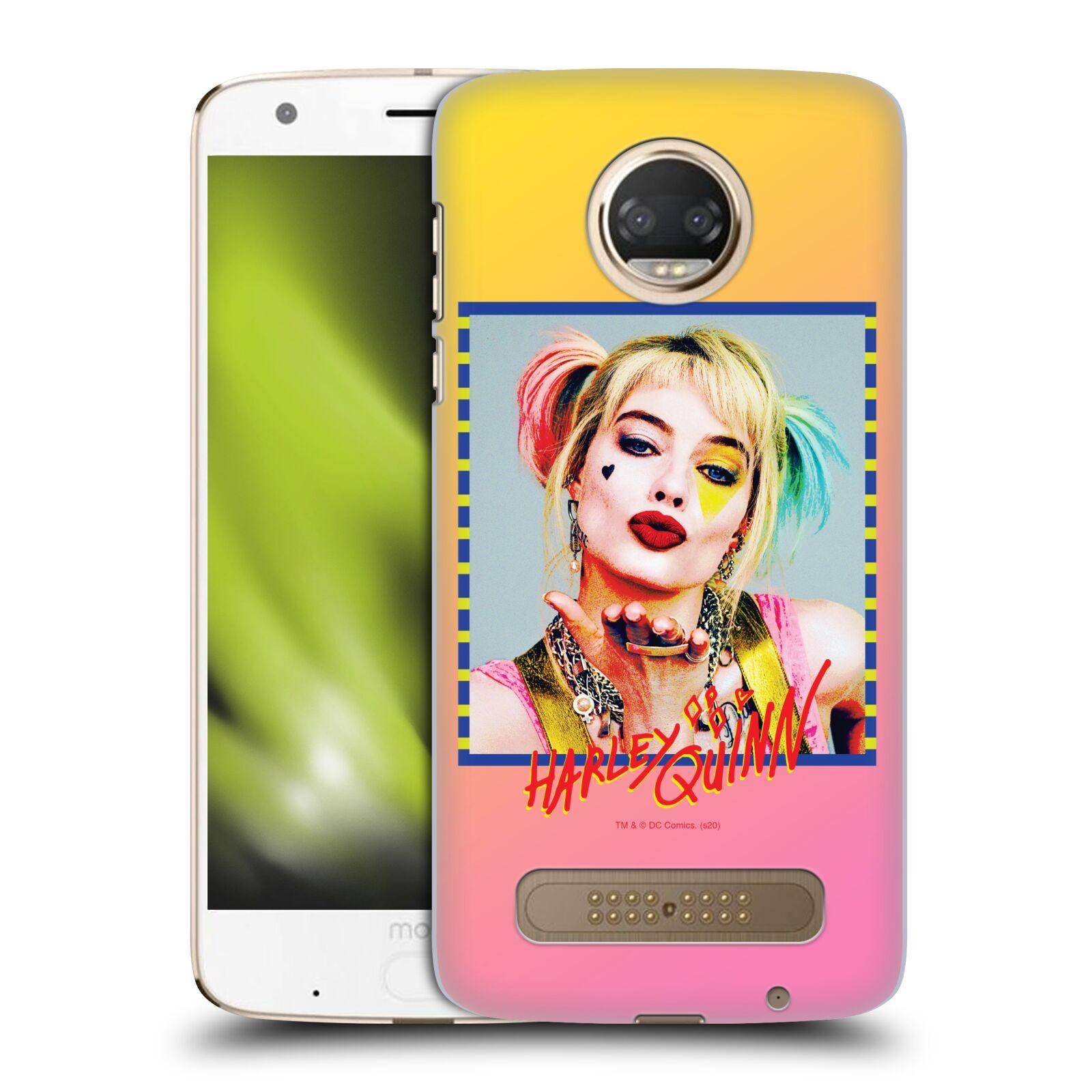 Pouzdro na mobil Motorola Moto Z2 PLAY - HEAD CASE - DC komix Harely Quinn