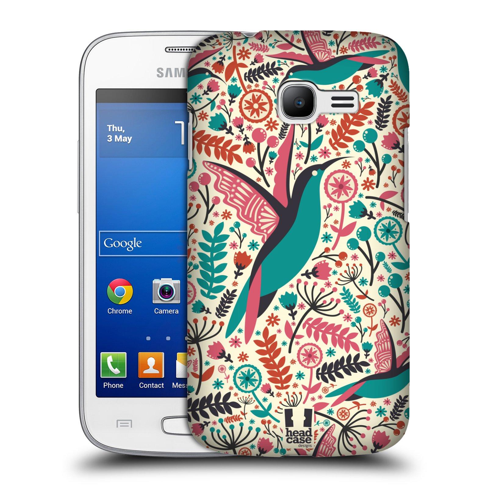 HEAD CASE plastový obal na mobil SAMSUNG GALAXY Star Pro S7260/S7262 DUOS vzor kreslení ptáci kolibřík