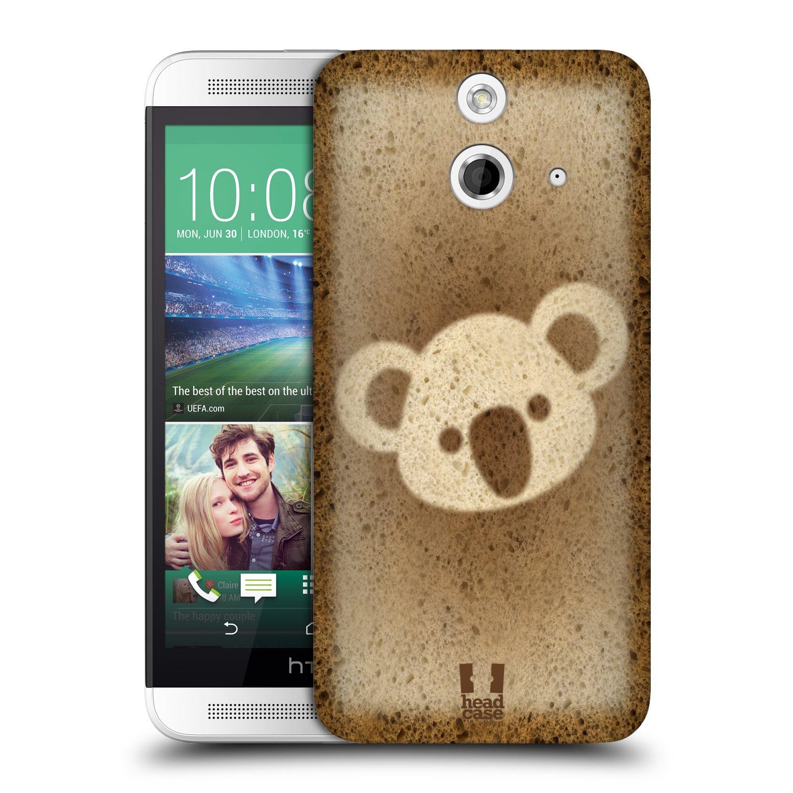 HEAD CASE DESIGNS BREAD ART HARD BACK CASE FOR HTC ONE E8 DUAL SIM