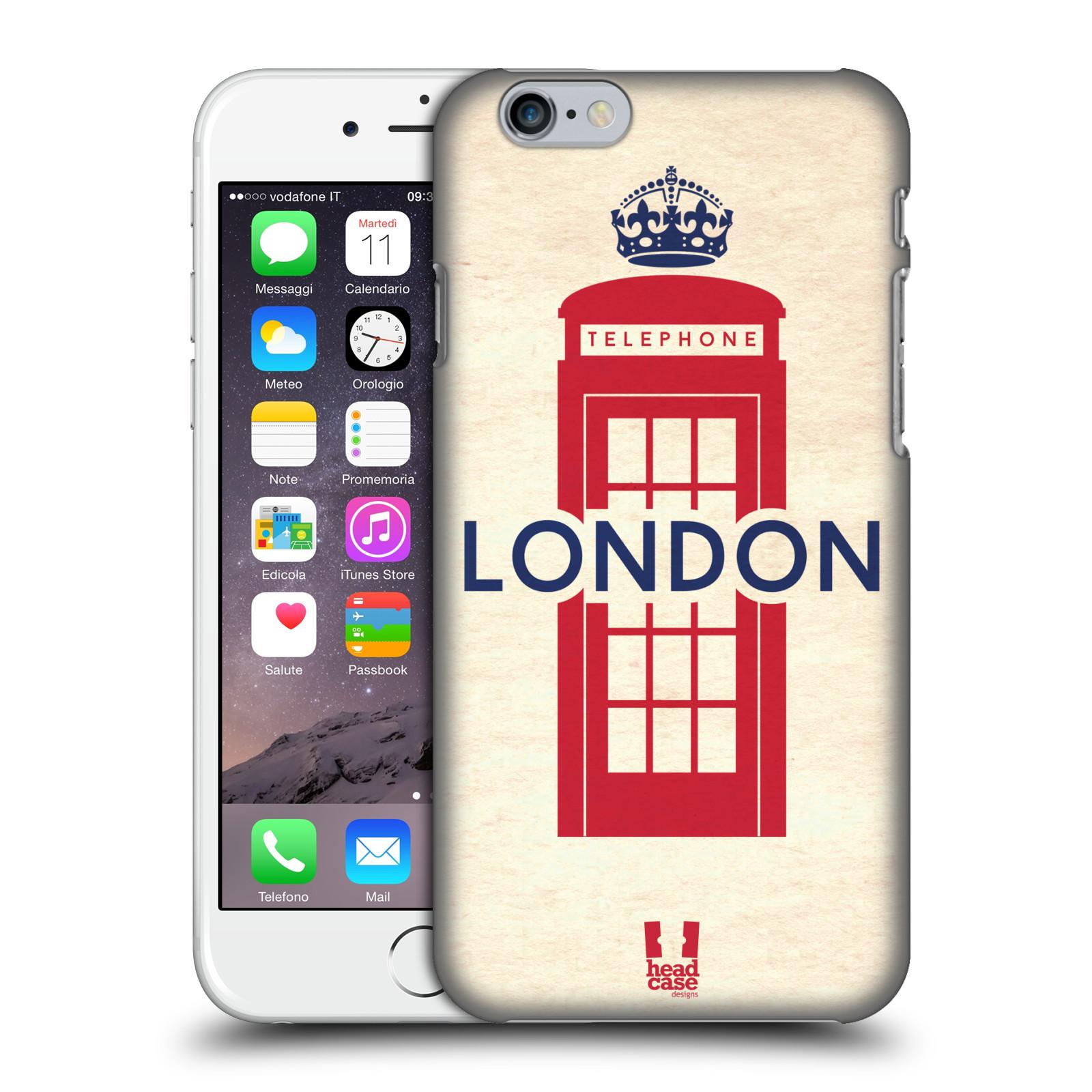 HEAD CASE DESIGNS BRITISH PRIDE HARD BACK CASE FOR APPLE iPHONE 6S