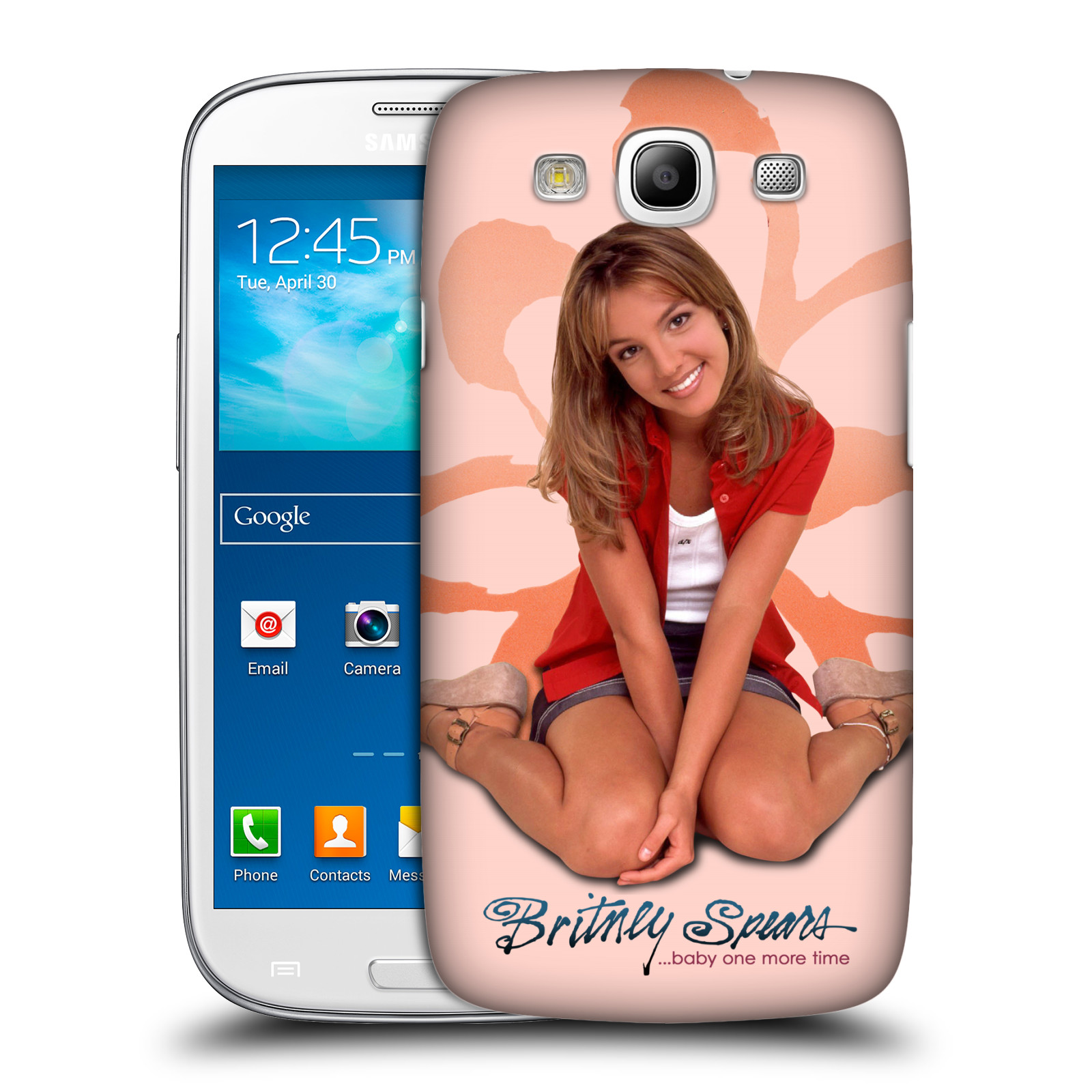 Pouzdro na mobil Samsung Galaxy S3 - HEAD CASE - Britney Spears - Baby One More Time