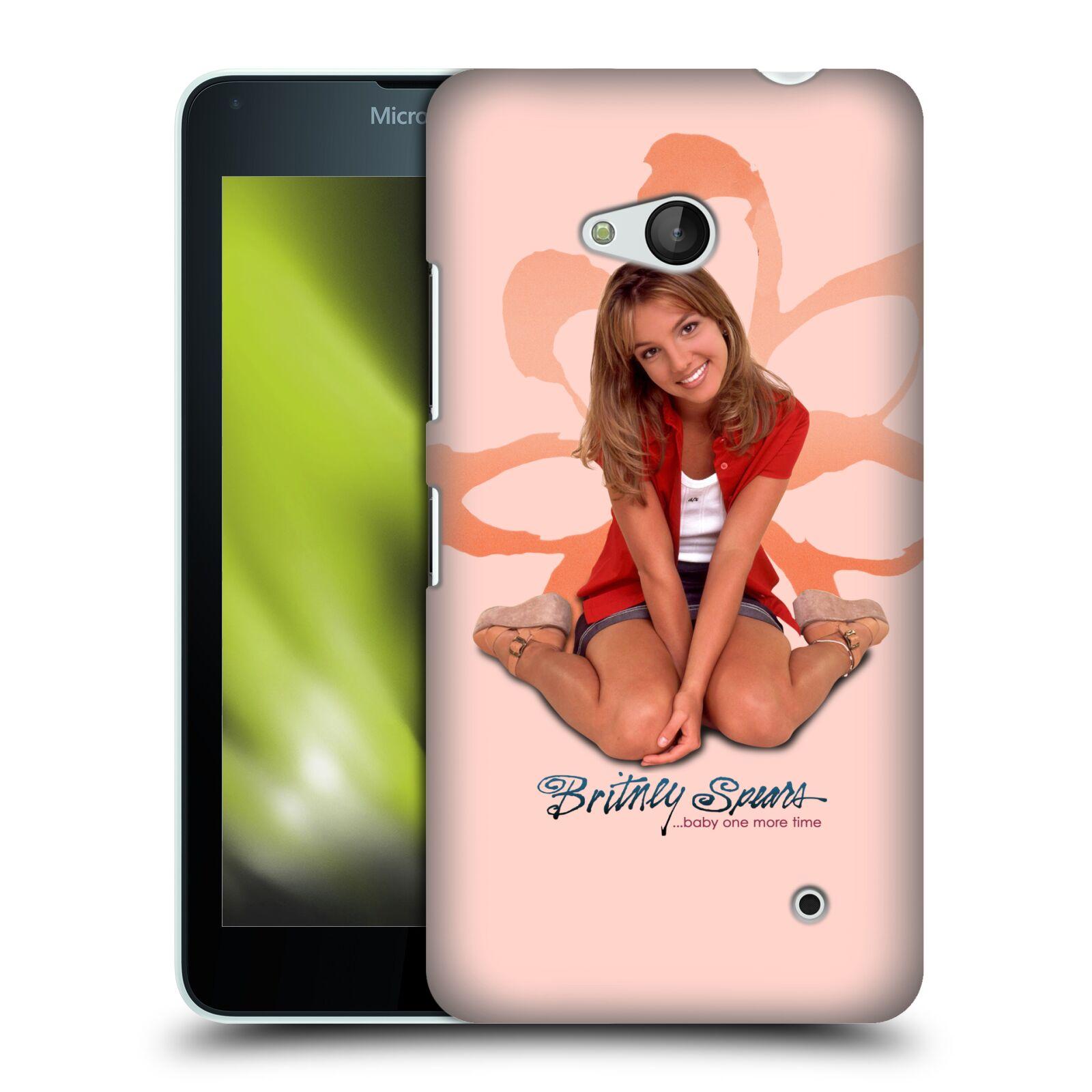 Pouzdro na mobil Microsoft Lumia 640 / 640 DUAL SIM - HEAD CASE - Britney Spears - Baby One More Time