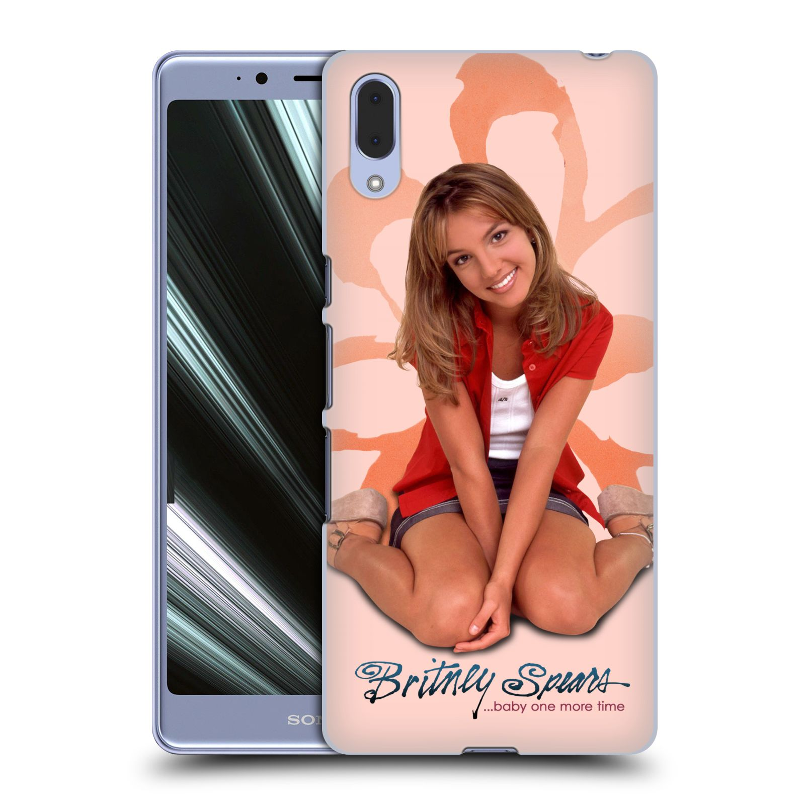 Pouzdro na mobil Sony Xperia L3 - HEAD CASE - Britney Spears - Baby One More Time