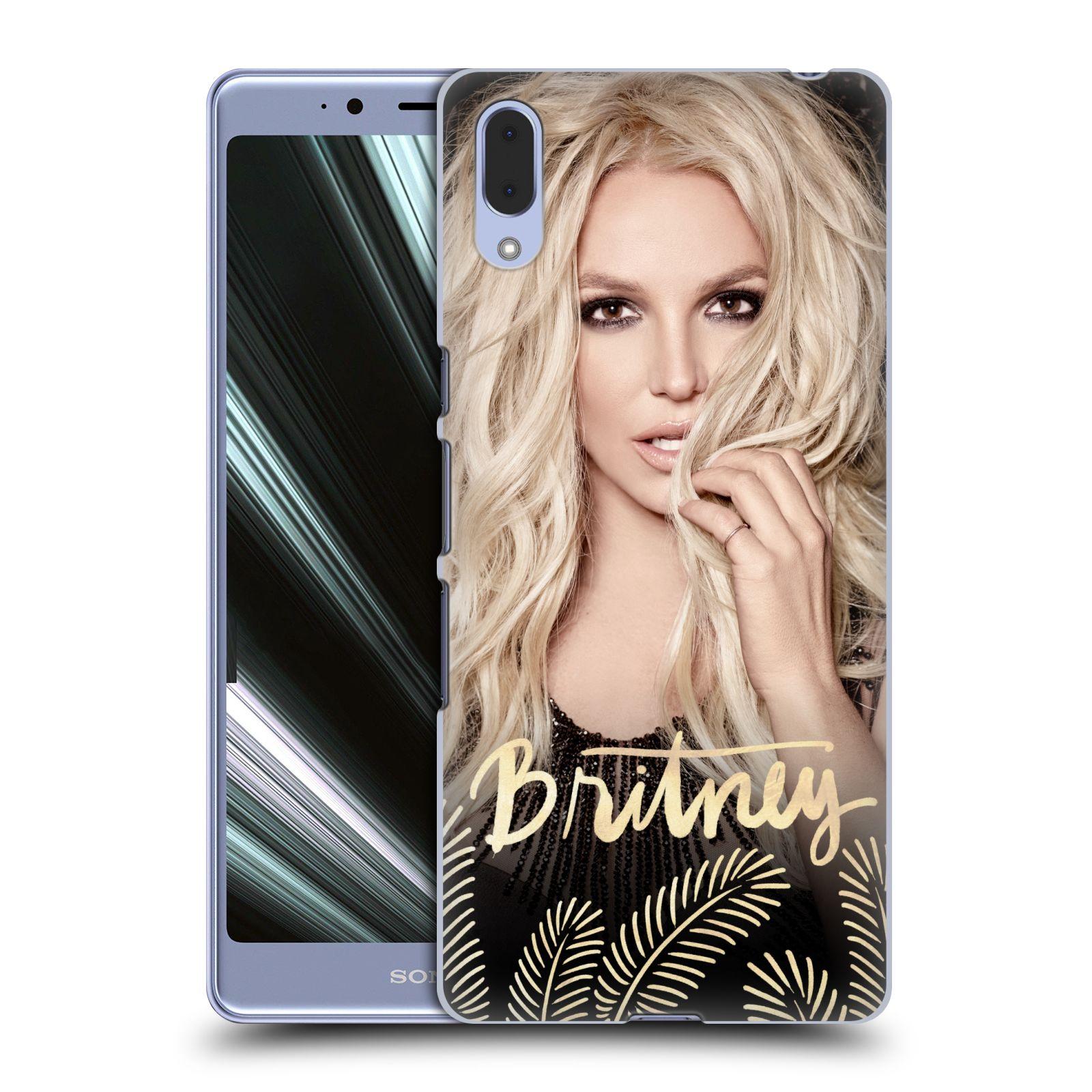 Pouzdro na mobil Sony Xperia L3 - HEAD CASE - Britney Spears - Zlatá a Černá