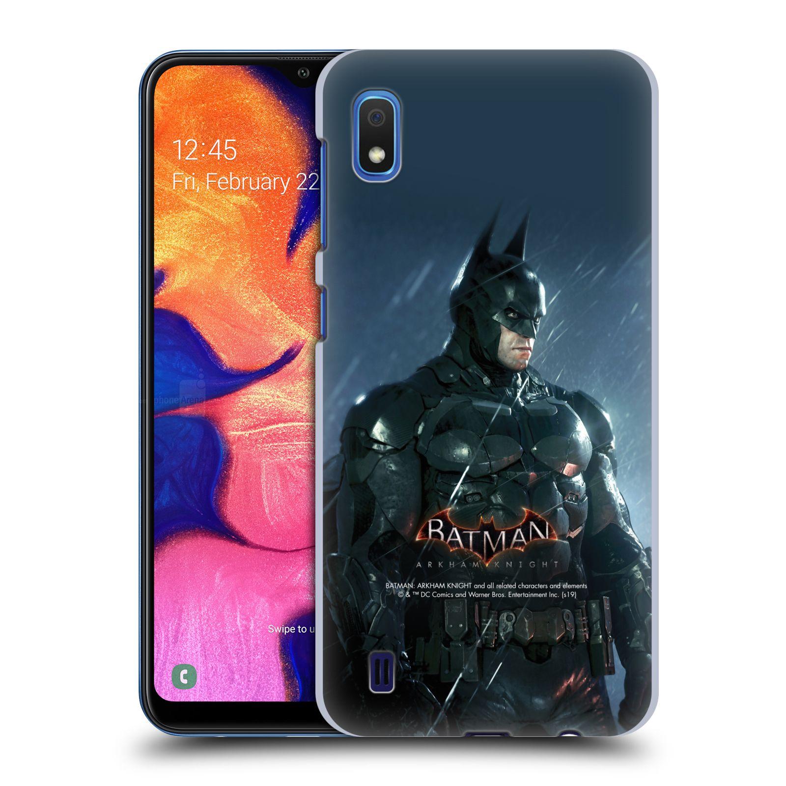 Pouzdro na mobil Samsung Galaxy A10 - HEAD CASE - Batman v dešti