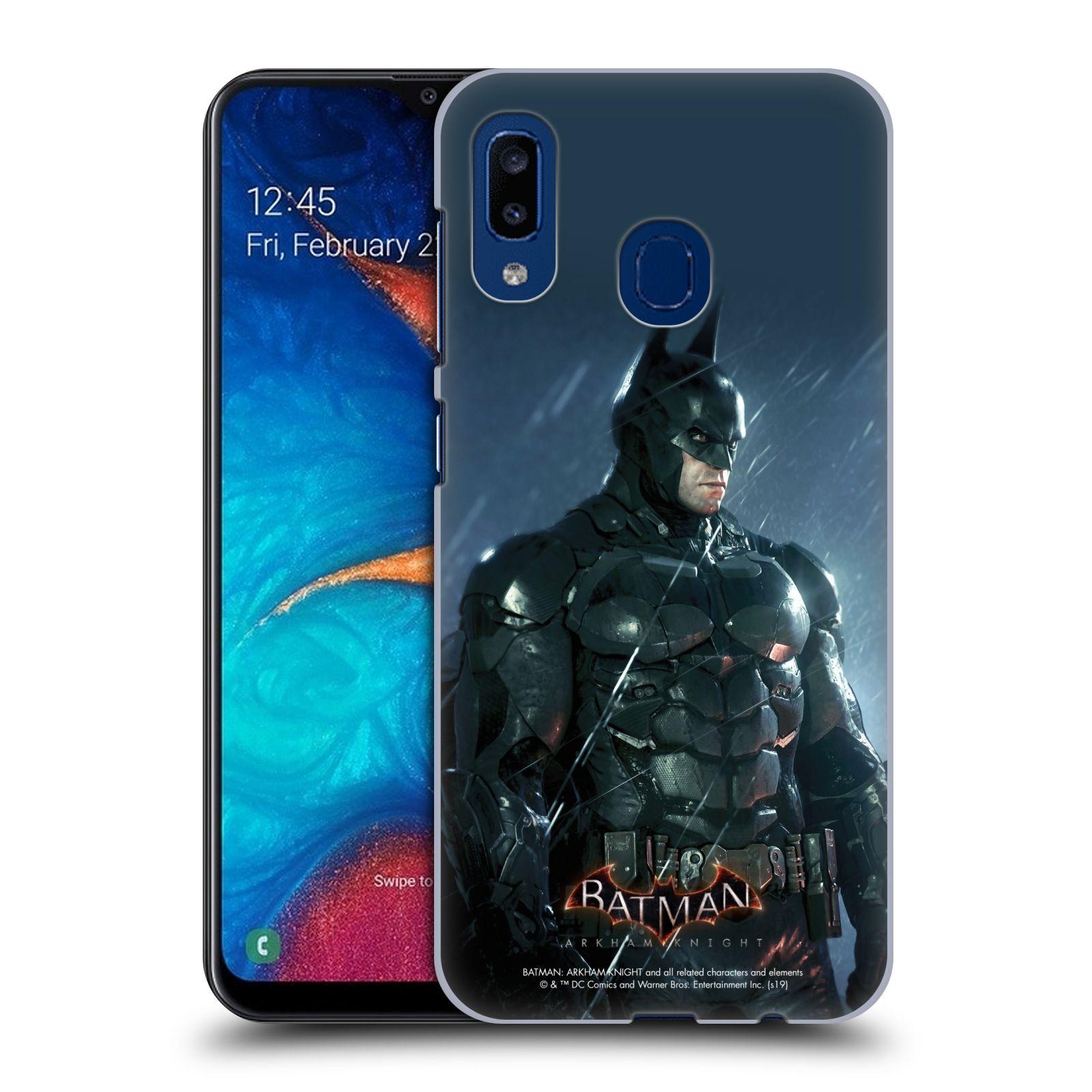 Pouzdro na mobil Samsung Galaxy A20 - HEAD CASE - Batman v dešti
