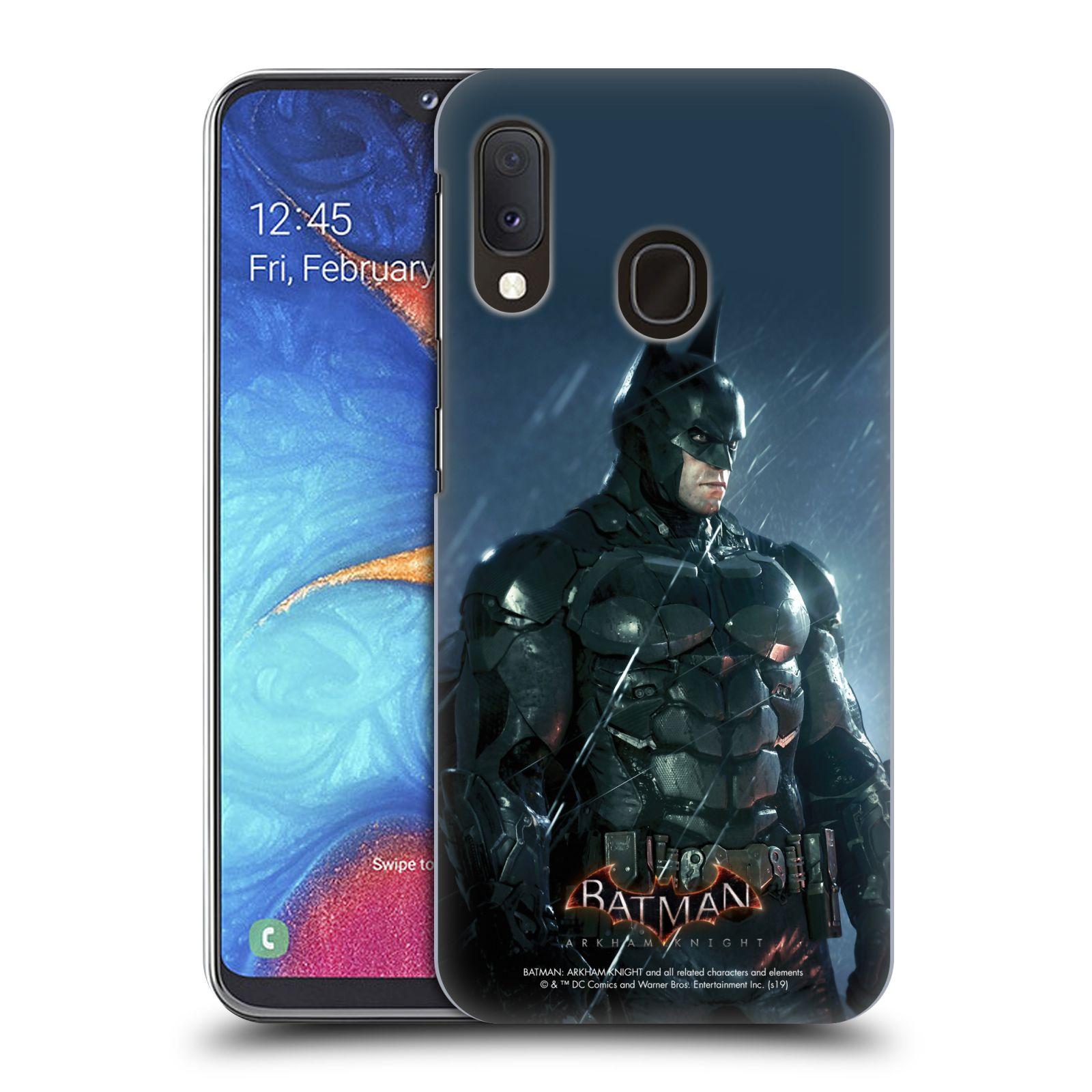 Pouzdro na mobil Samsung Galaxy A20e - HEAD CASE - Batman v dešti
