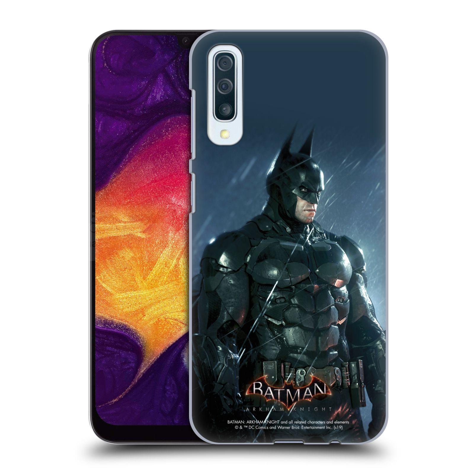 Pouzdro na mobil Samsung Galaxy A50 - HEAD CASE - Batman v dešti