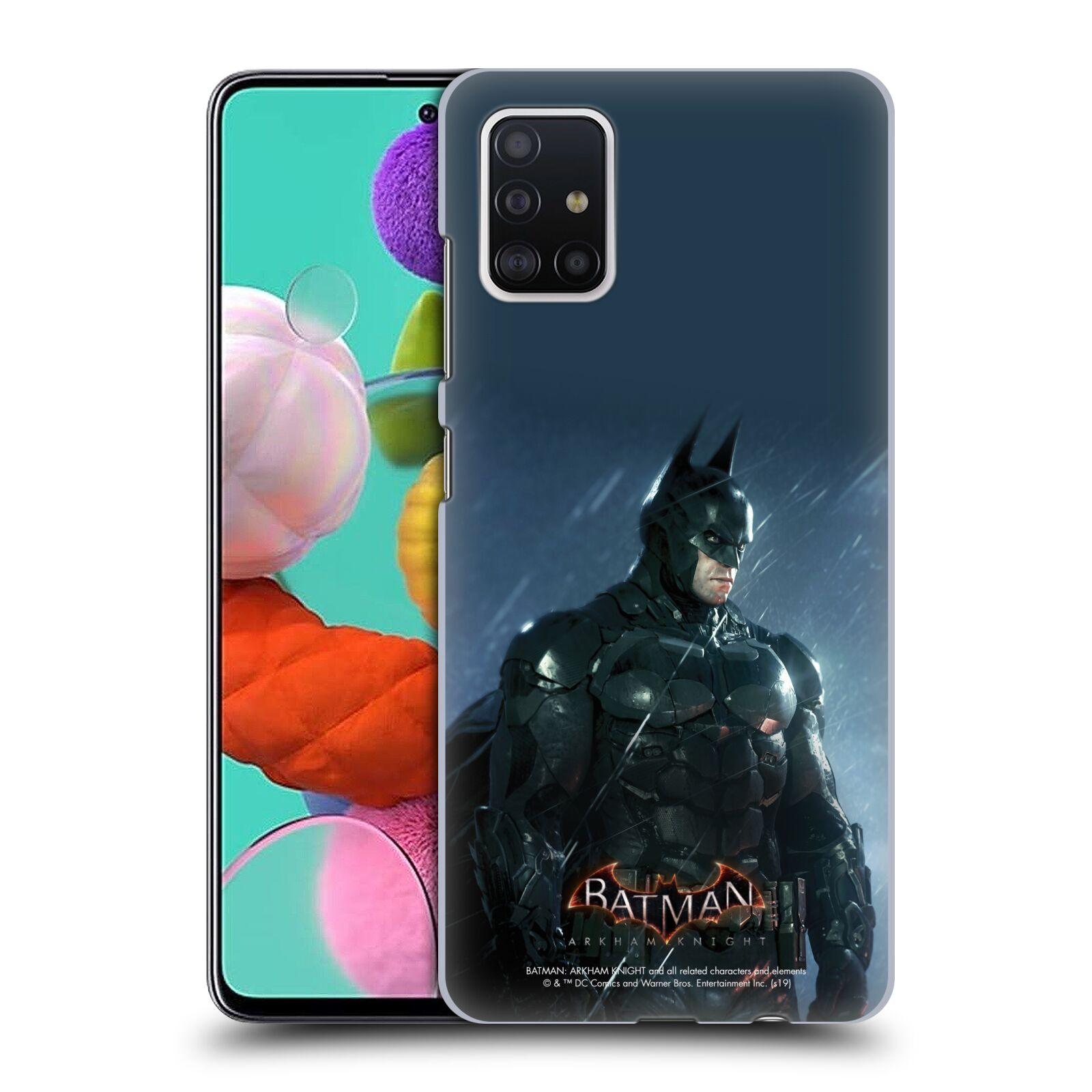 Pouzdro na mobil Samsung Galaxy A51 - HEAD CASE - Batman v dešti