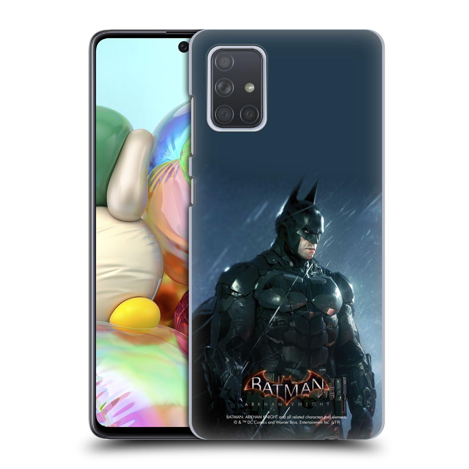Pouzdro na mobil Samsung Galaxy A71 - HEAD CASE - Batman v dešti