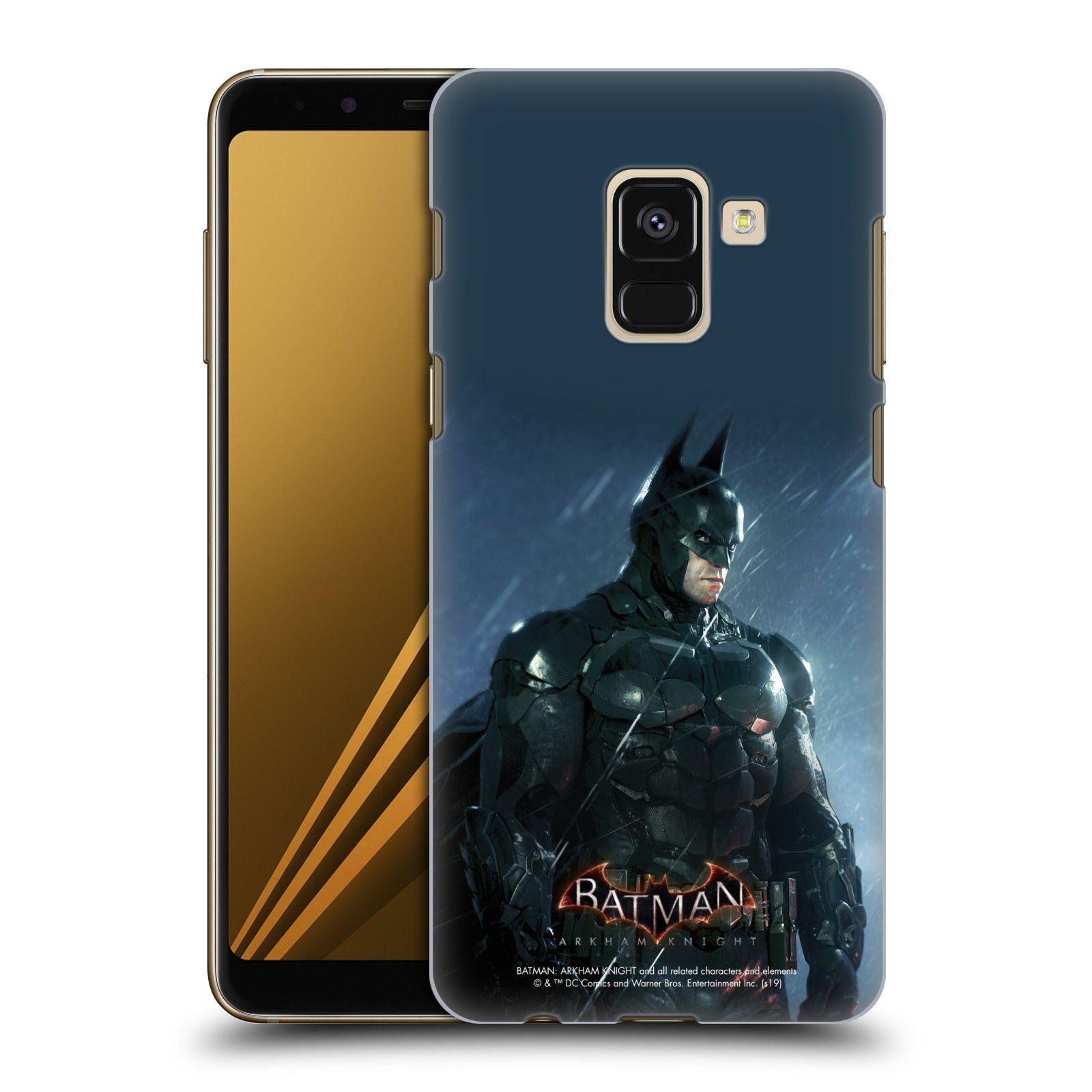 Pouzdro na mobil Samsung Galaxy A8+ 2018, A8 PLUS 2018 - HEAD CASE - Batman v dešti