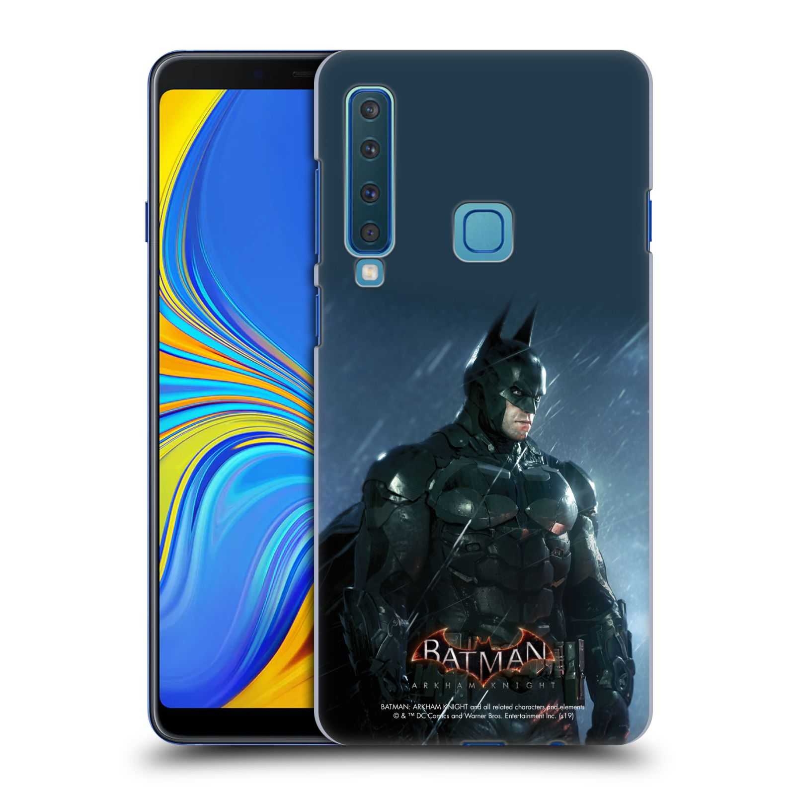 Pouzdro na mobil Samsung Galaxy A9 2018 - HEAD CASE - Batman v dešti
