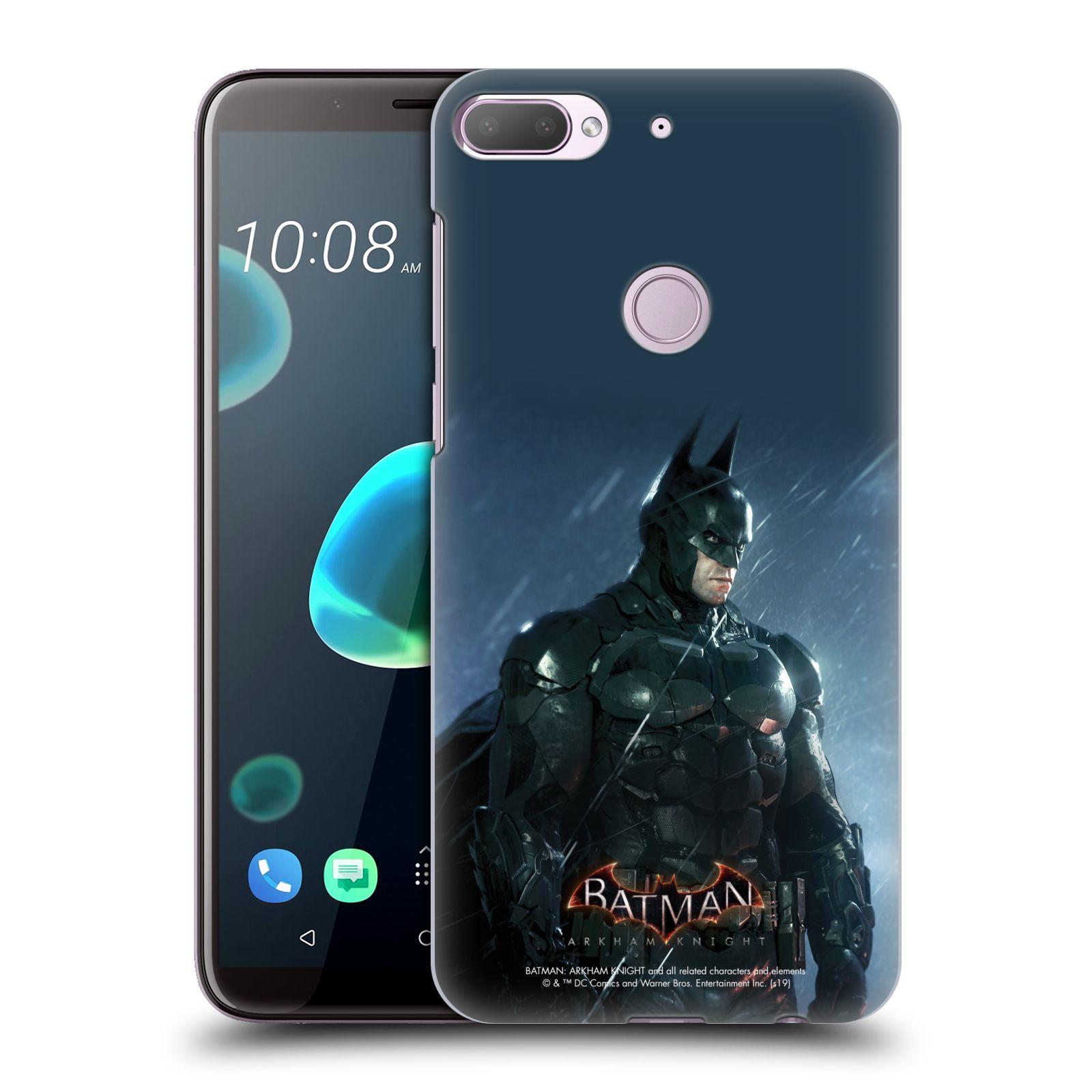 Pouzdro na mobil HTC Desire 12+ / Desire 12+ DUAL SIM - HEAD CASE - Batman v dešti