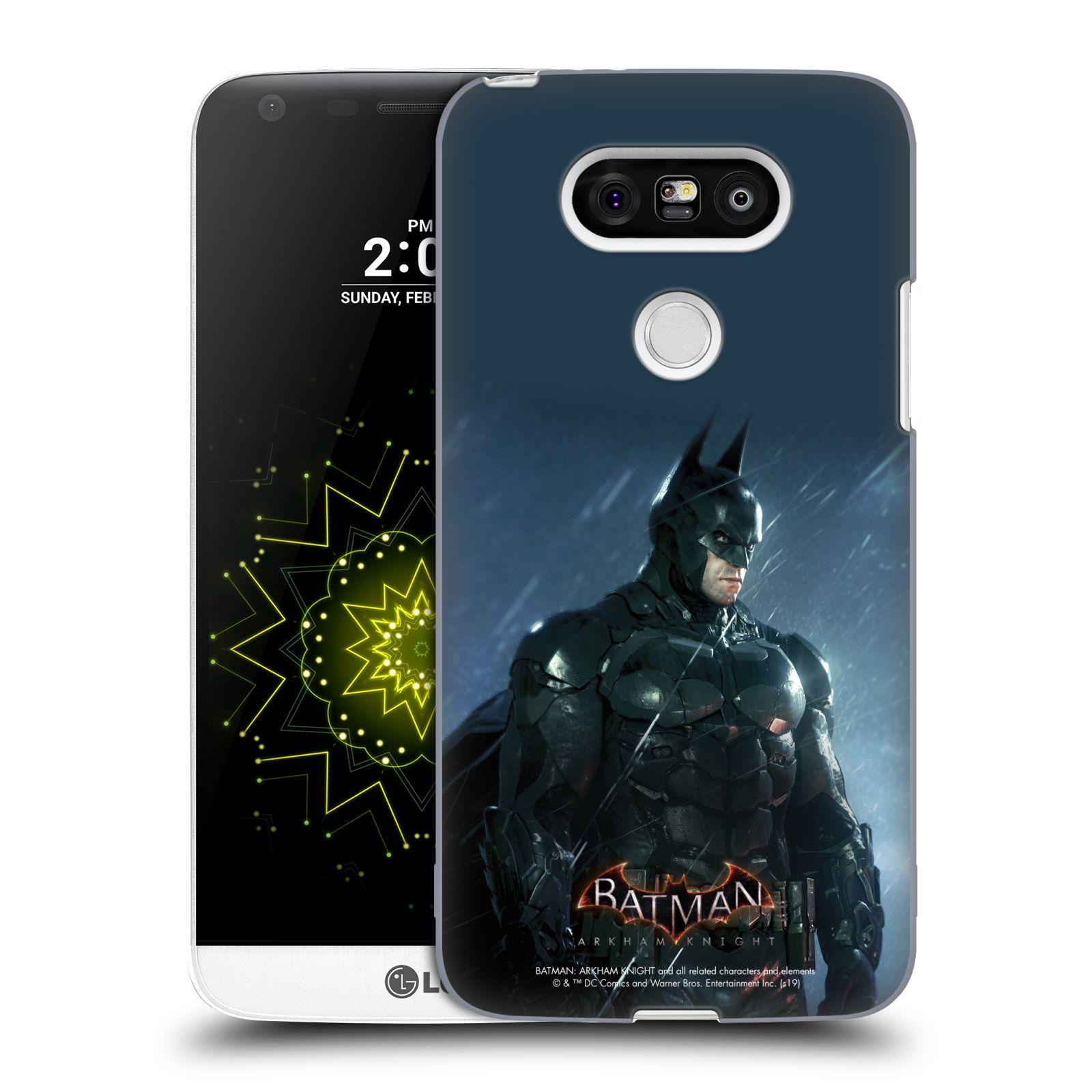 Pouzdro na mobil LG G5 - HEAD CASE - Batman v dešti