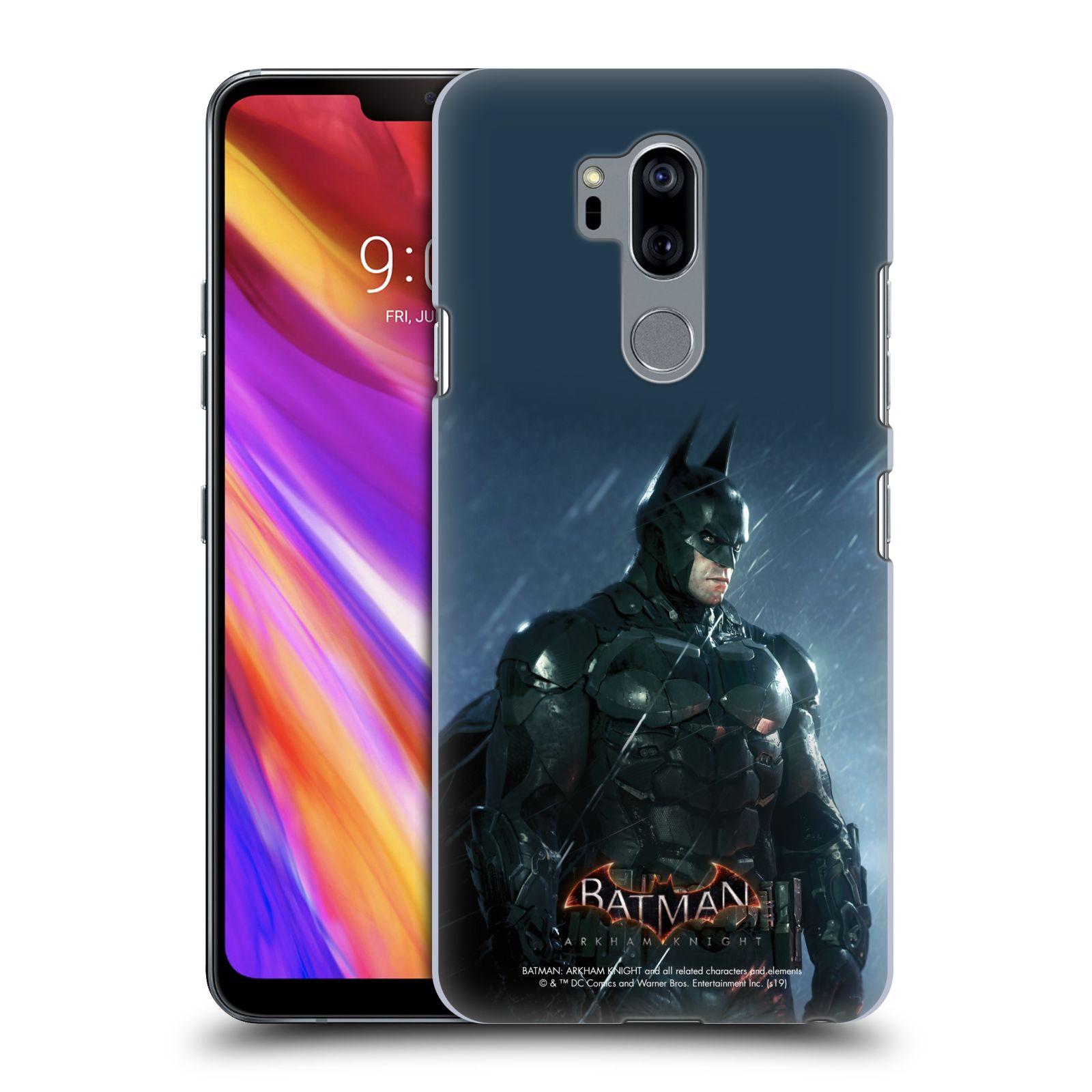 Pouzdro na mobil LG G7  ThinQ - HEAD CASE - Batman v dešti
