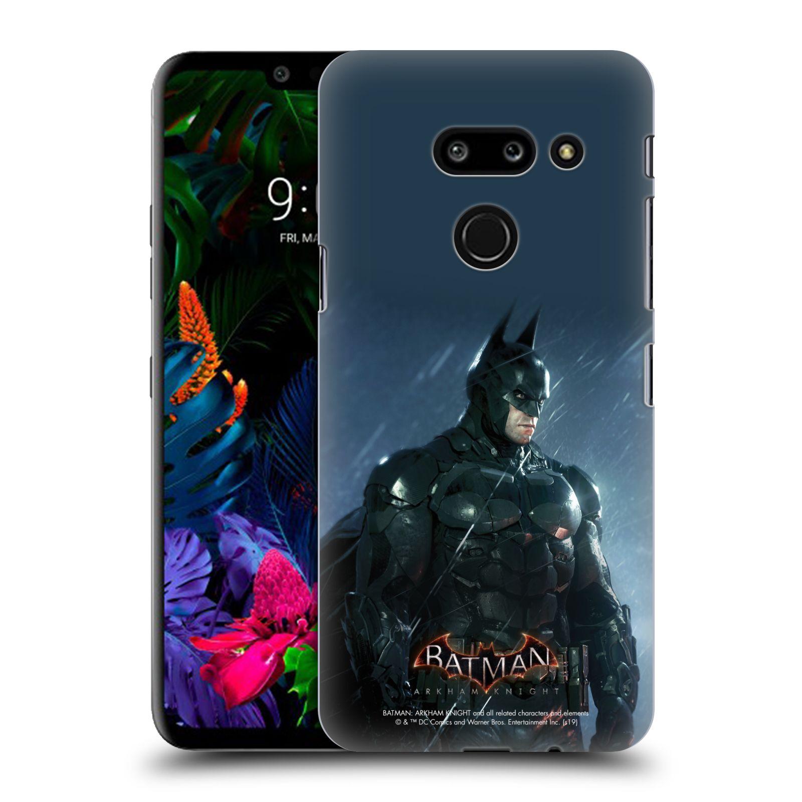 Pouzdro na mobil LG G8 ThinQ - HEAD CASE - Batman v dešti