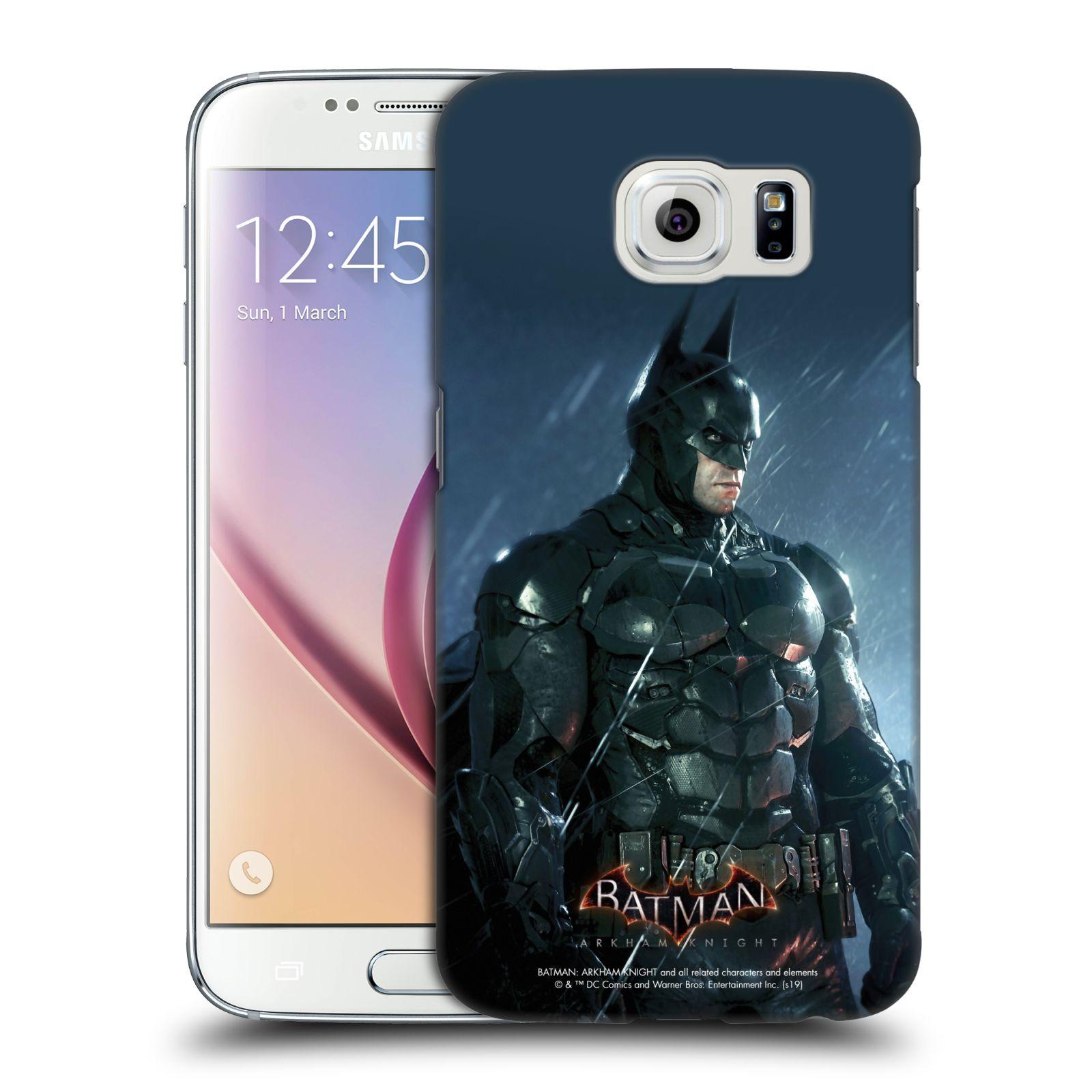 Pouzdro na mobil Samsung Galaxy S6 - HEAD CASE - Batman v dešti