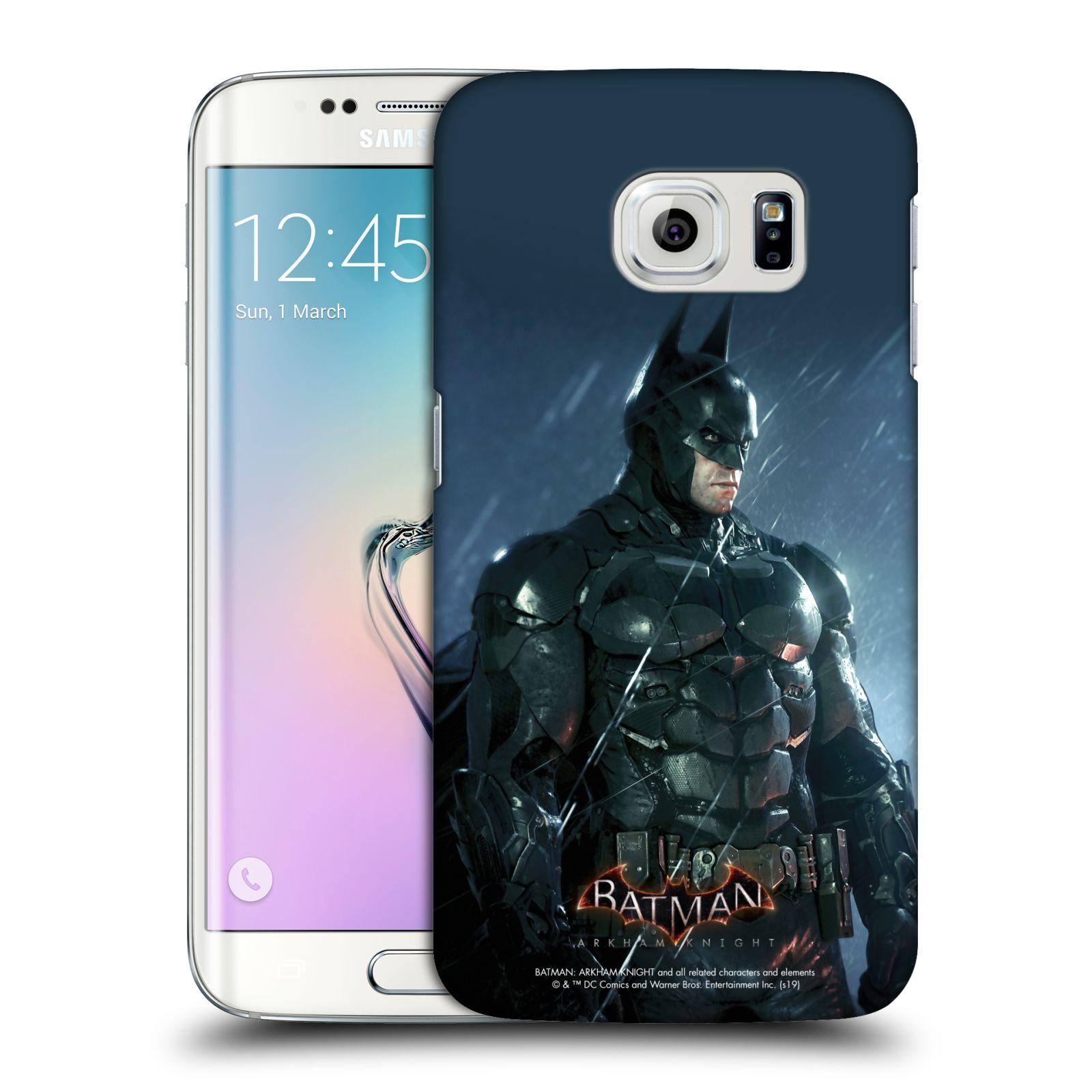 Pouzdro na mobil Samsung Galaxy S6 EDGE - HEAD CASE - Batman v dešti