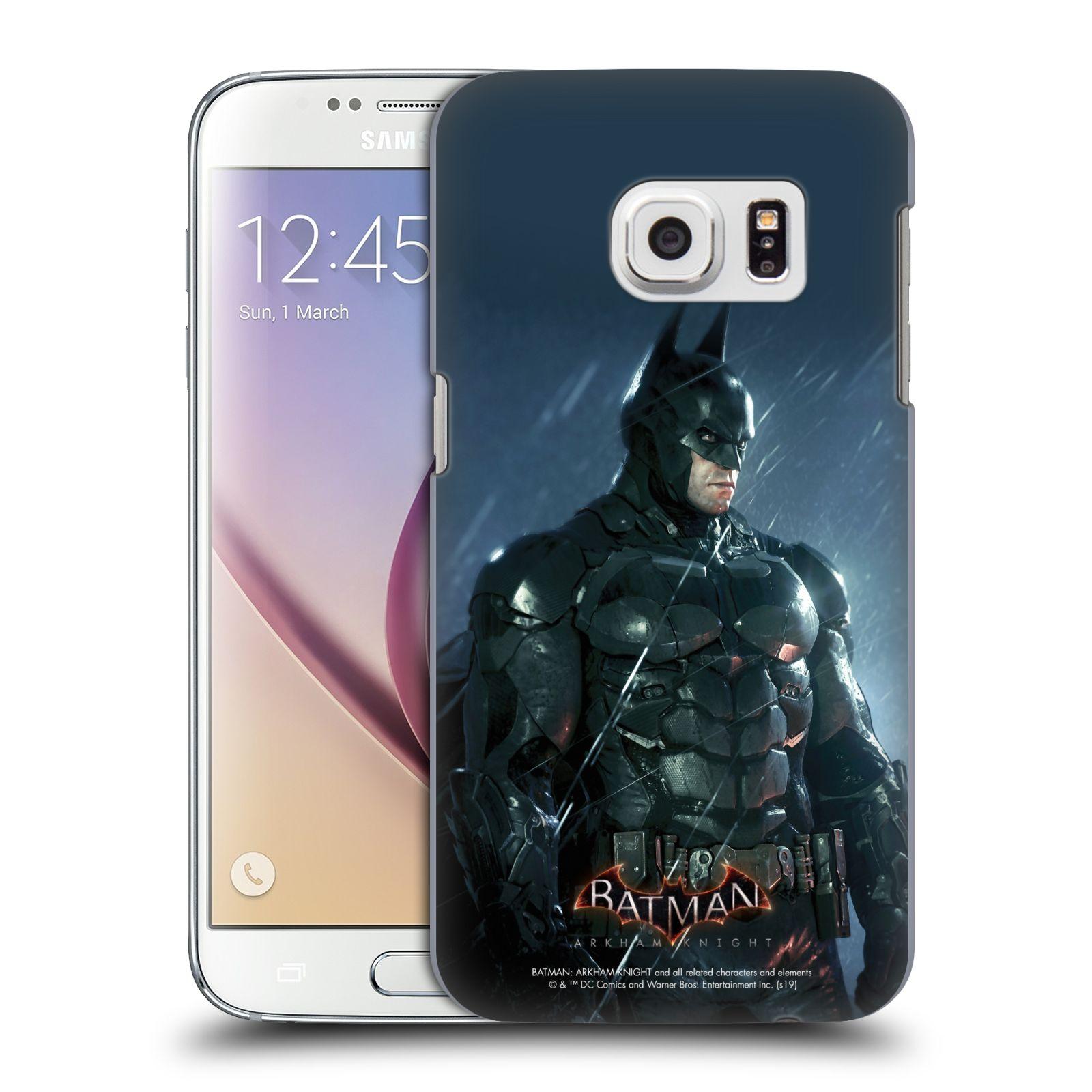 Pouzdro na mobil Samsung Galaxy S7 - HEAD CASE - Batman v dešti