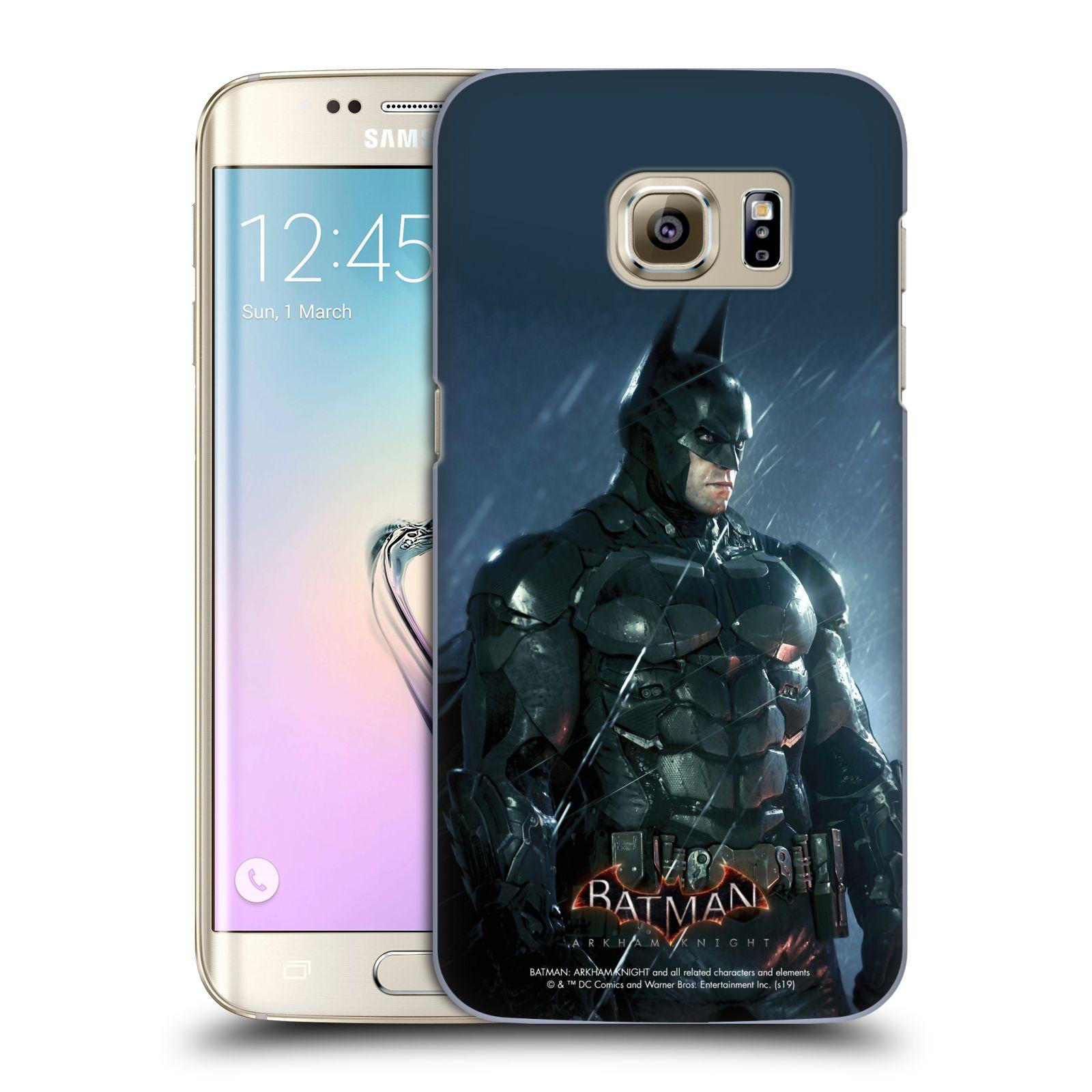 Pouzdro na mobil Samsung Galaxy S7 EDGE - HEAD CASE - Batman v dešti