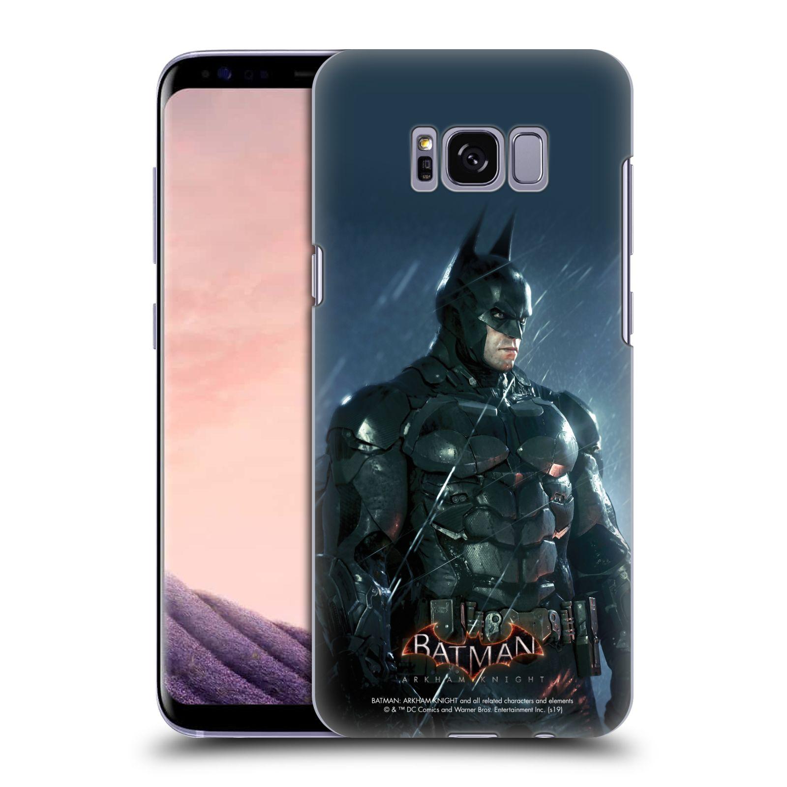 Pouzdro na mobil Samsung Galaxy S8 - HEAD CASE - Batman v dešti