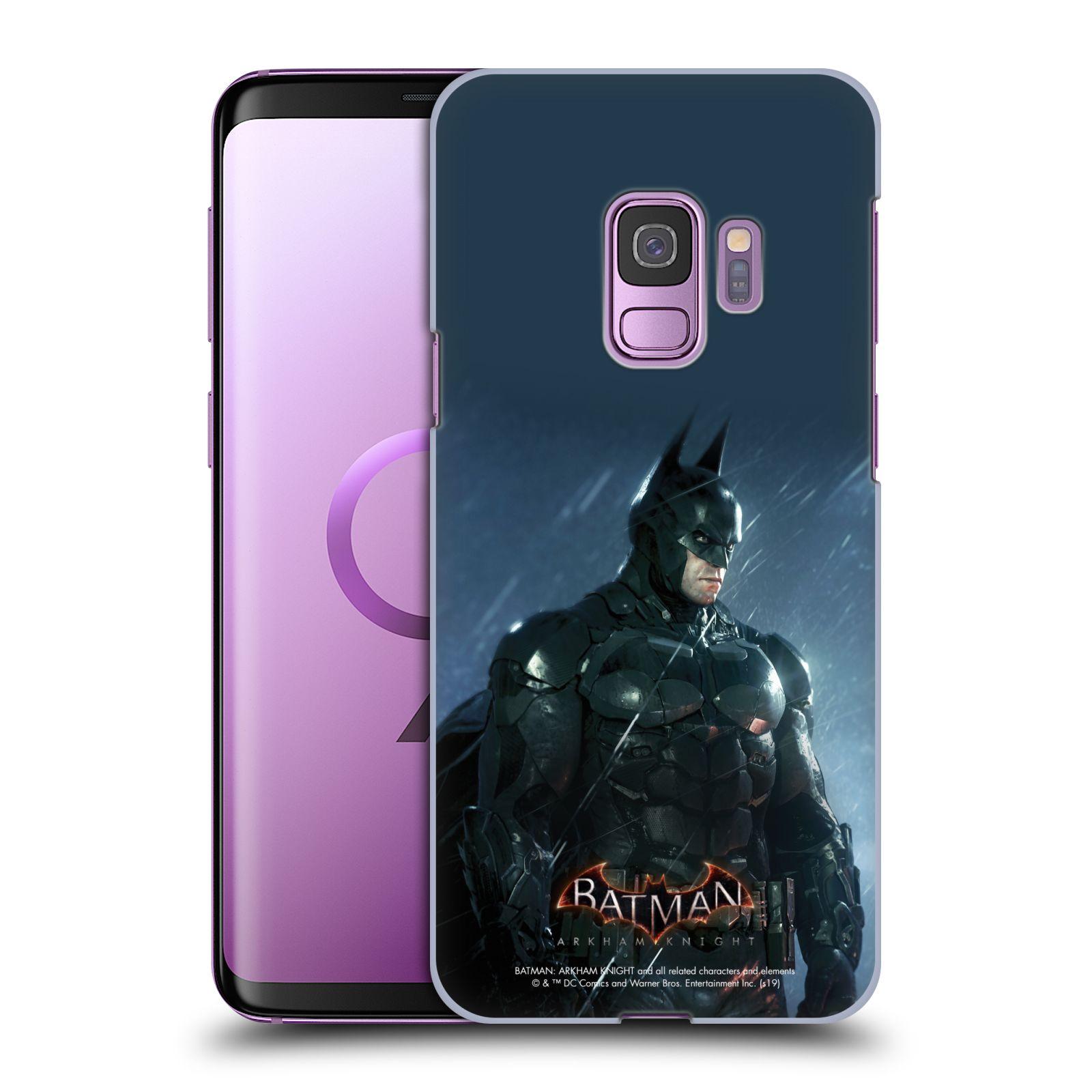 Pouzdro na mobil Samsung Galaxy S9 - HEAD CASE - Batman v dešti