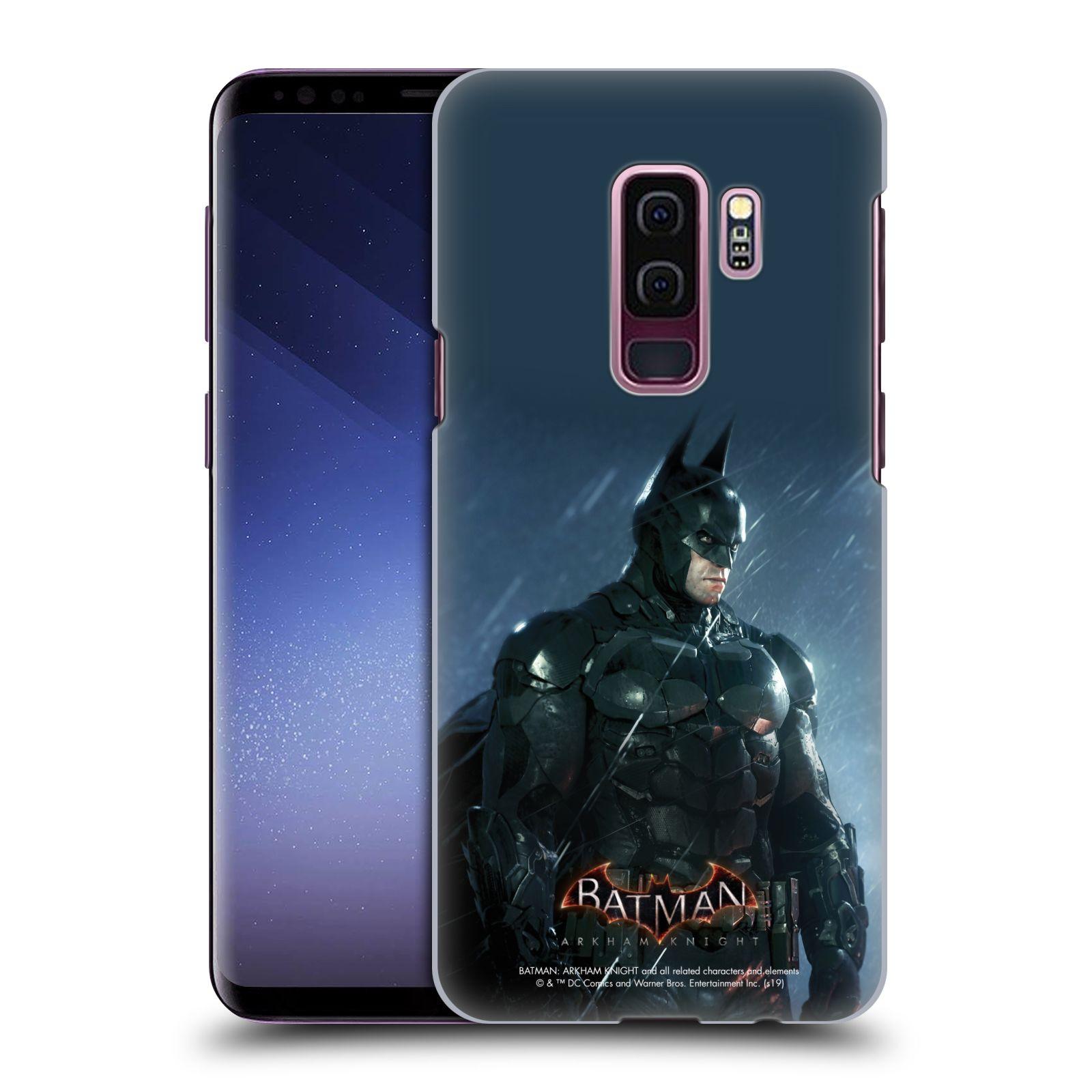 Pouzdro na mobil Samsung Galaxy S9+ / S9 PLUS - HEAD CASE - Batman v dešti