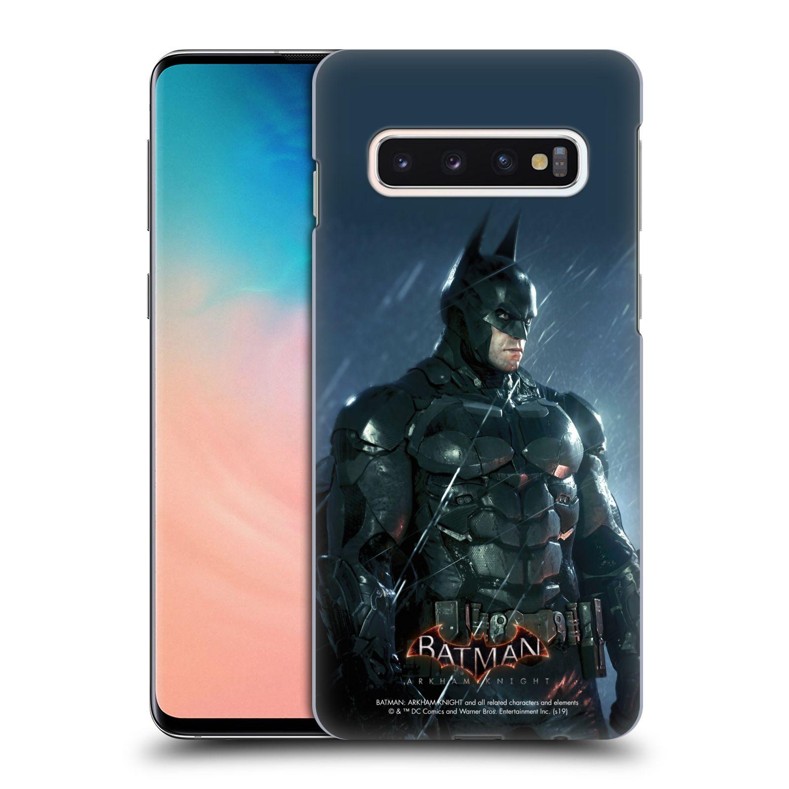 Pouzdro na mobil Samsung Galaxy S10 - HEAD CASE - Batman v dešti