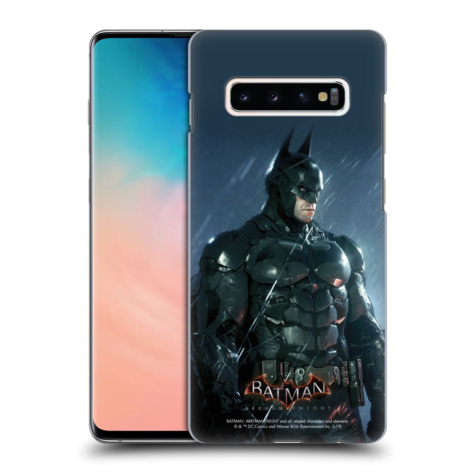 Pouzdro na mobil Samsung Galaxy S10+ - HEAD CASE - Batman v dešti