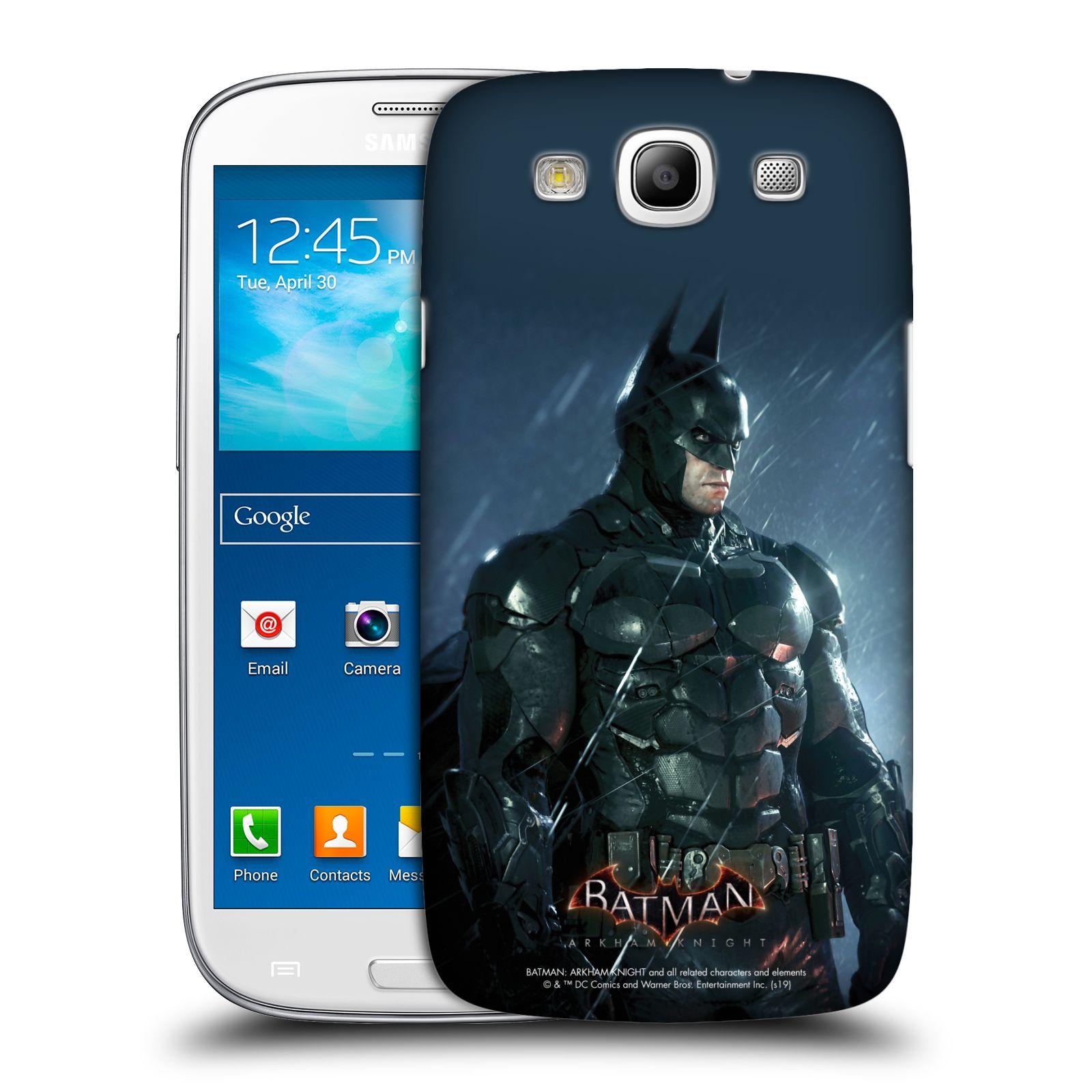 Pouzdro na mobil Samsung Galaxy S3 - HEAD CASE - Batman v dešti