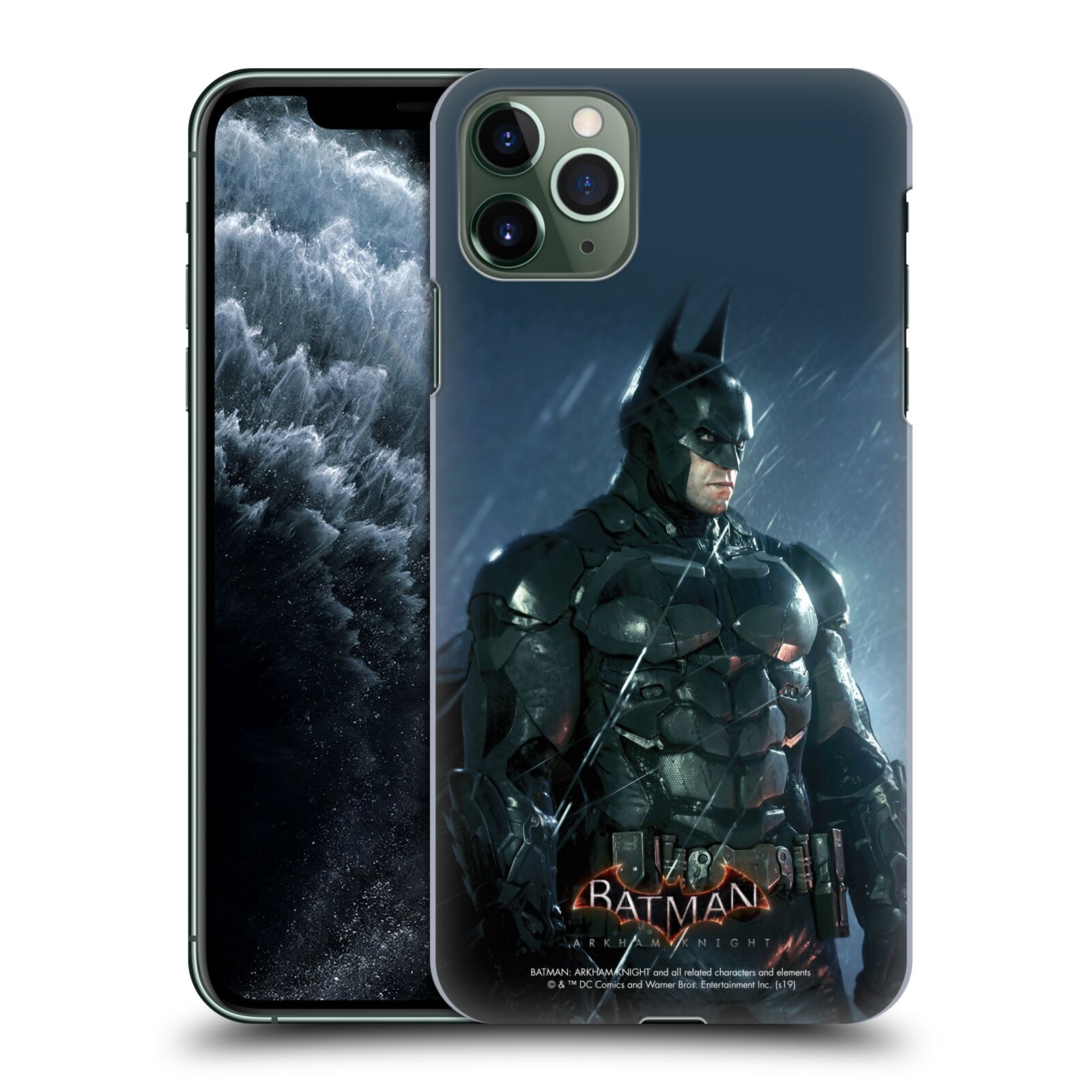 Pouzdro na mobil Apple Iphone 11 PRO MAX - HEAD CASE - Batman v dešti