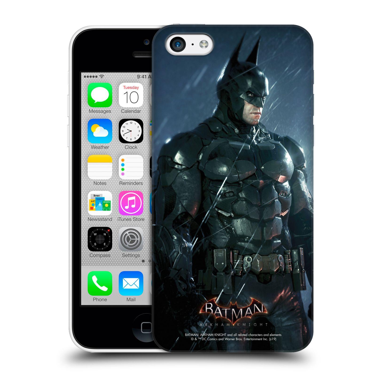 Pouzdro na mobil Apple Iphone 5C - HEAD CASE - Batman v dešti