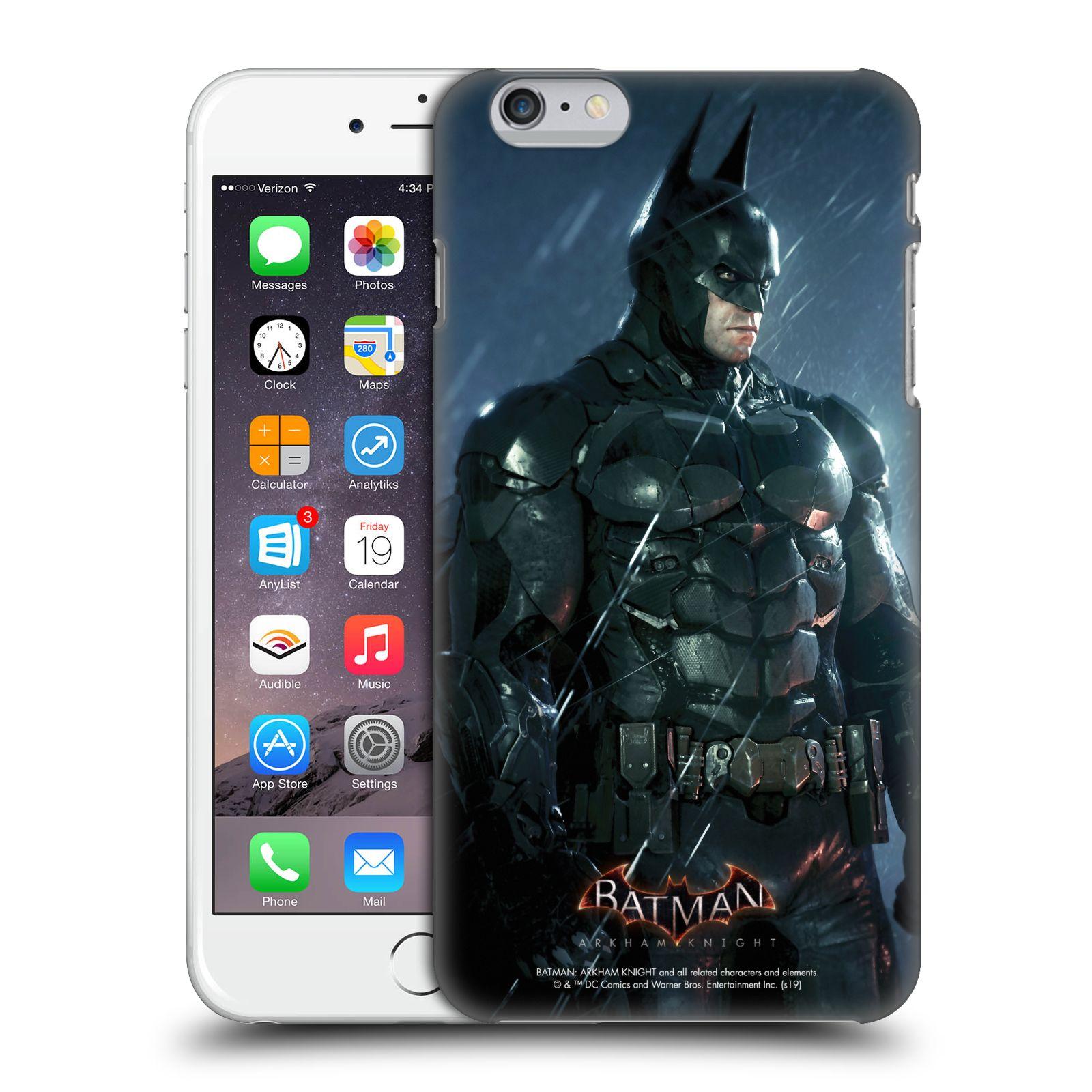 Pouzdro na mobil Apple Iphone 6/6S PLUS - HEAD CASE - Batman v dešti