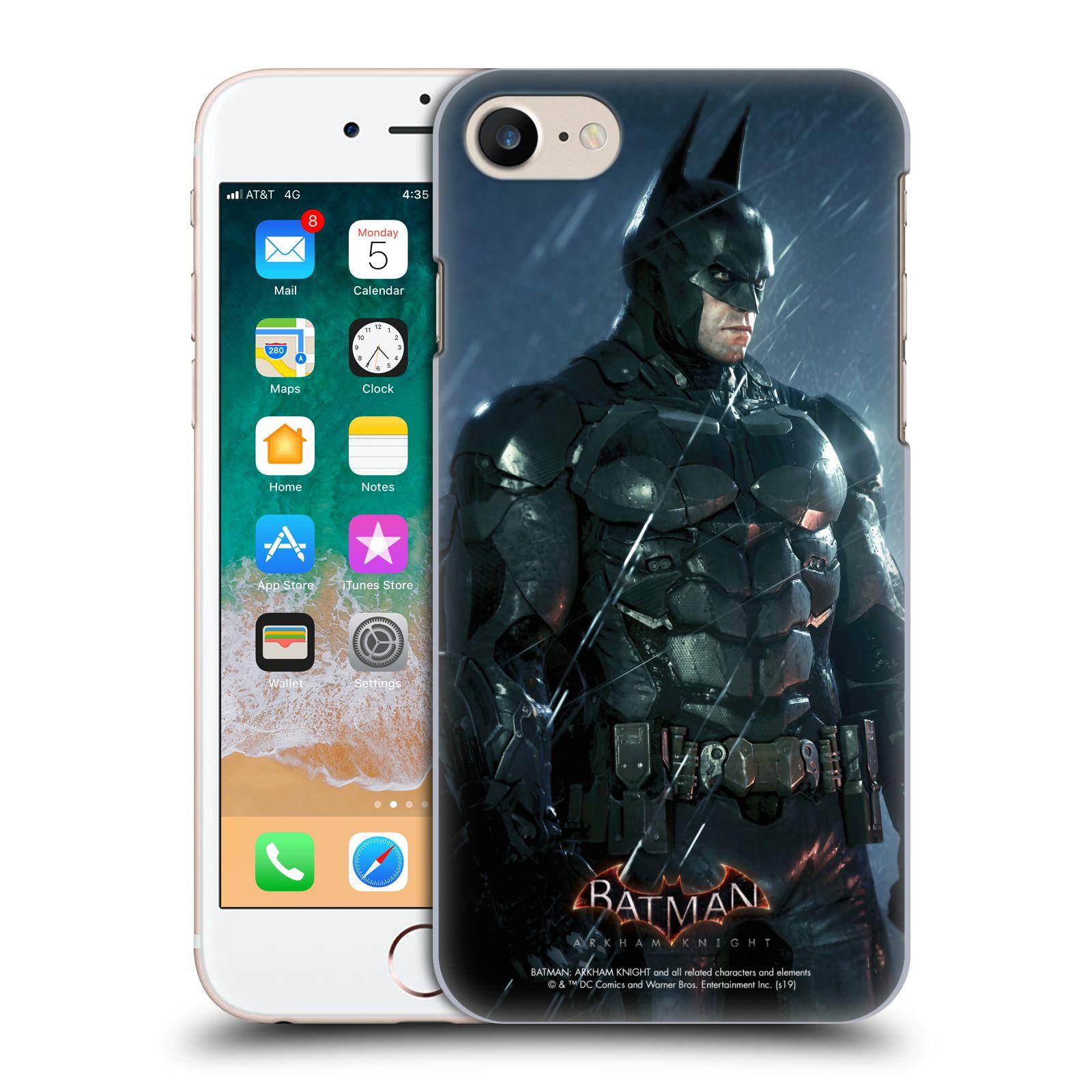 Pouzdro na mobil Apple Iphone 7/8 - HEAD CASE - Batman v dešti