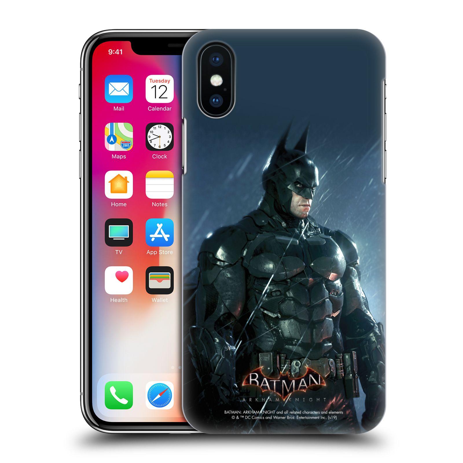 Pouzdro na mobil Apple Iphone X/XS - HEAD CASE - Batman v dešti