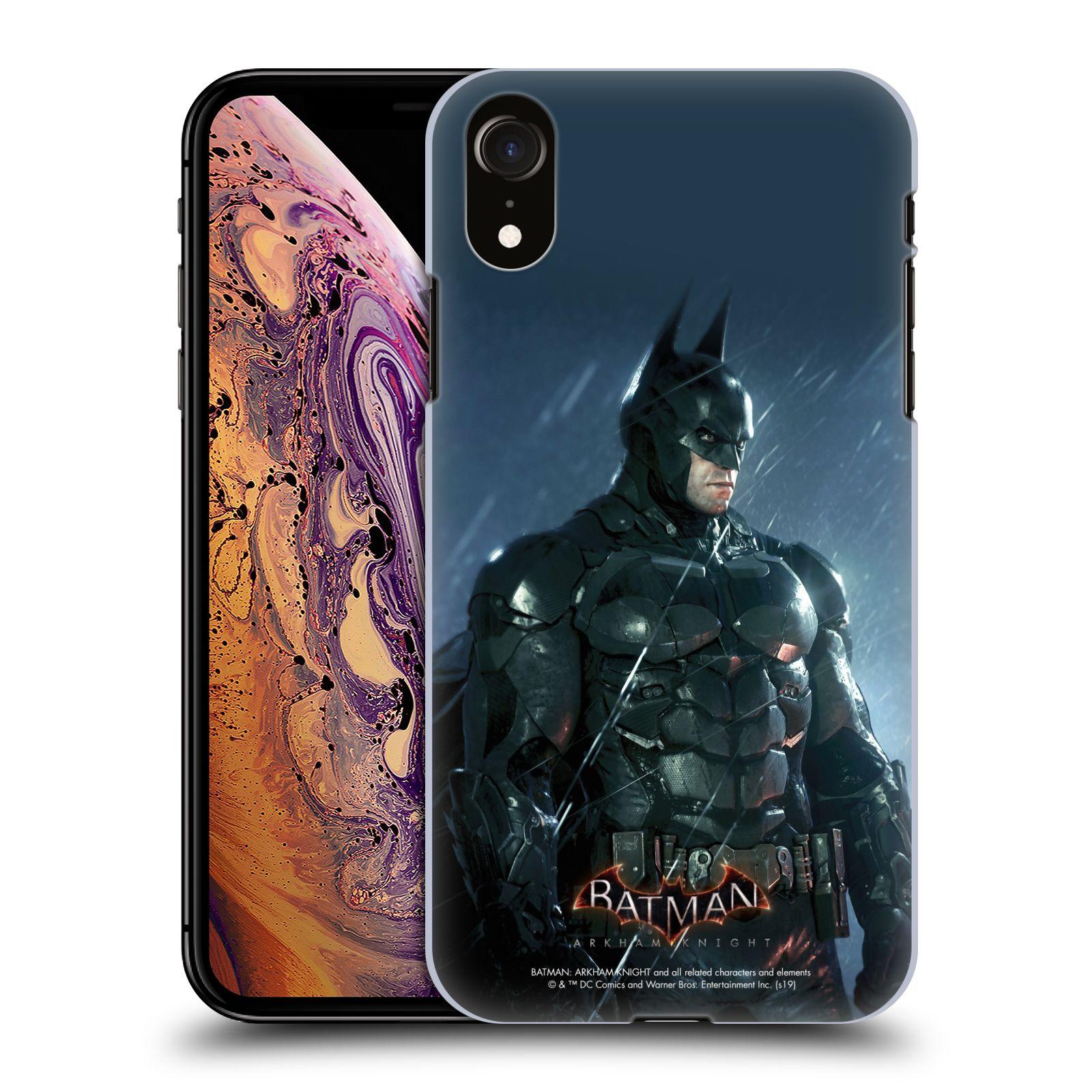 Pouzdro na mobil Apple Iphone XR - HEAD CASE - Batman v dešti