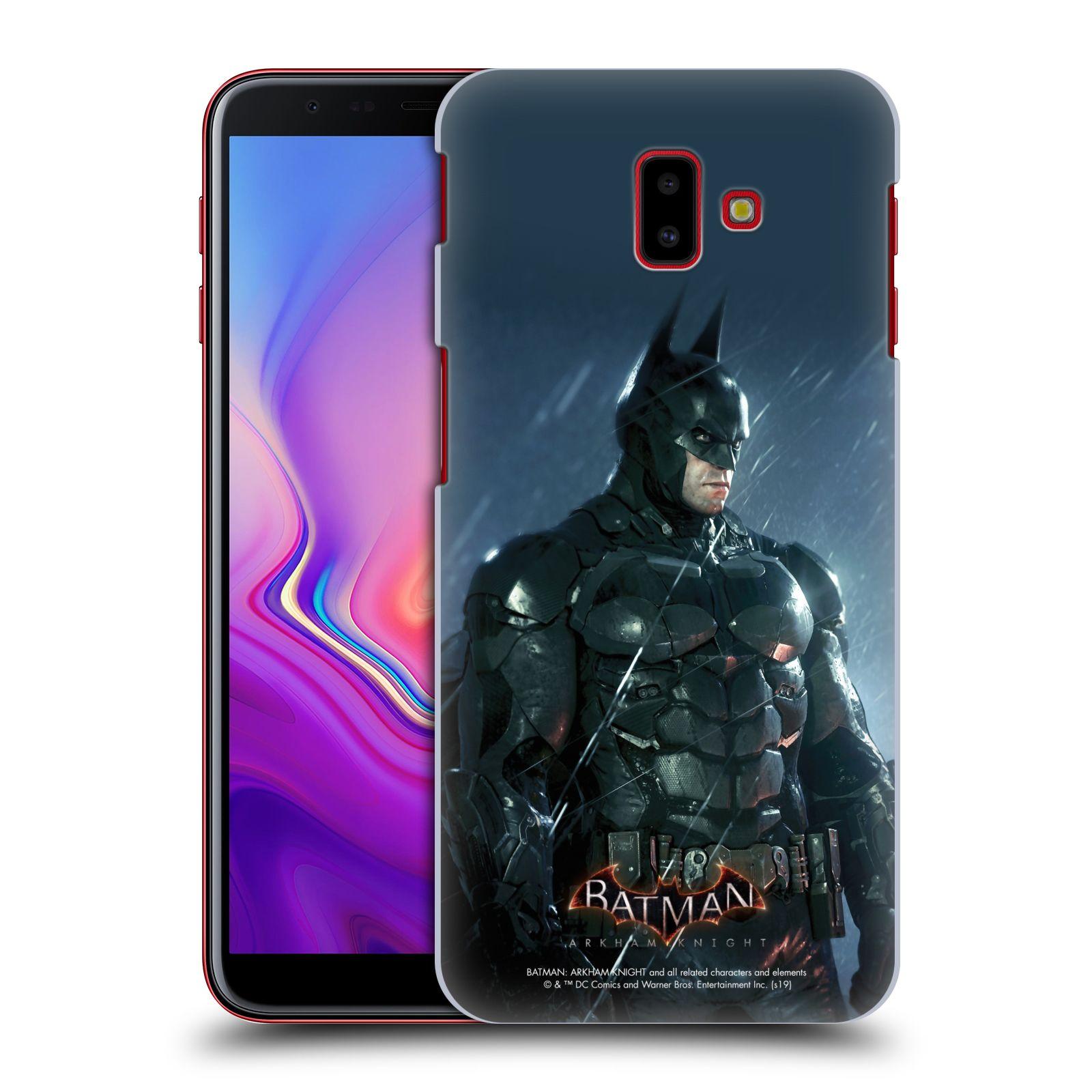 Pouzdro na mobil Samsung Galaxy J6+ - HEAD CASE - Batman v dešti