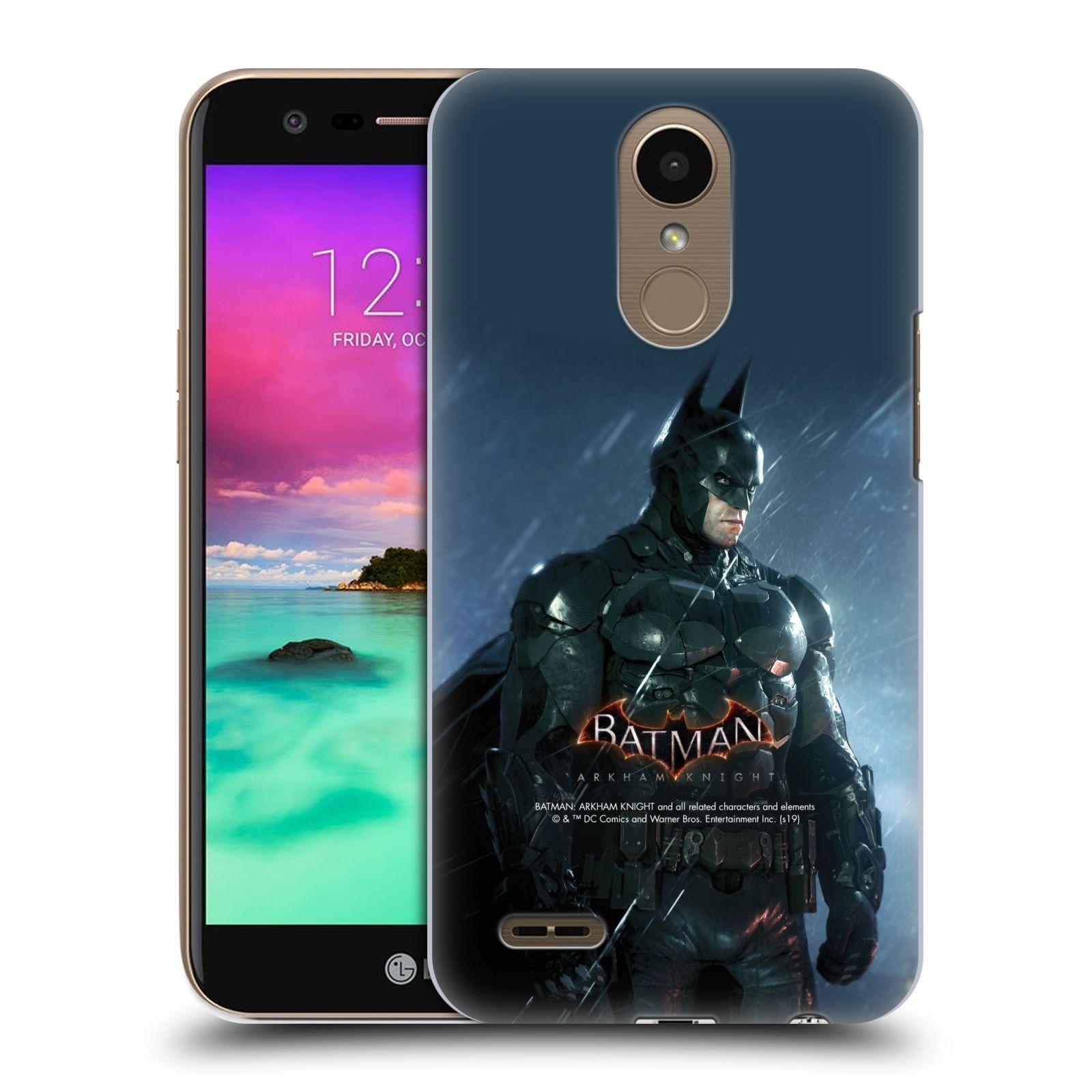 Pouzdro na mobil LG K10 2017 / K10 2017 DUAL SIM - HEAD CASE - Batman v dešti