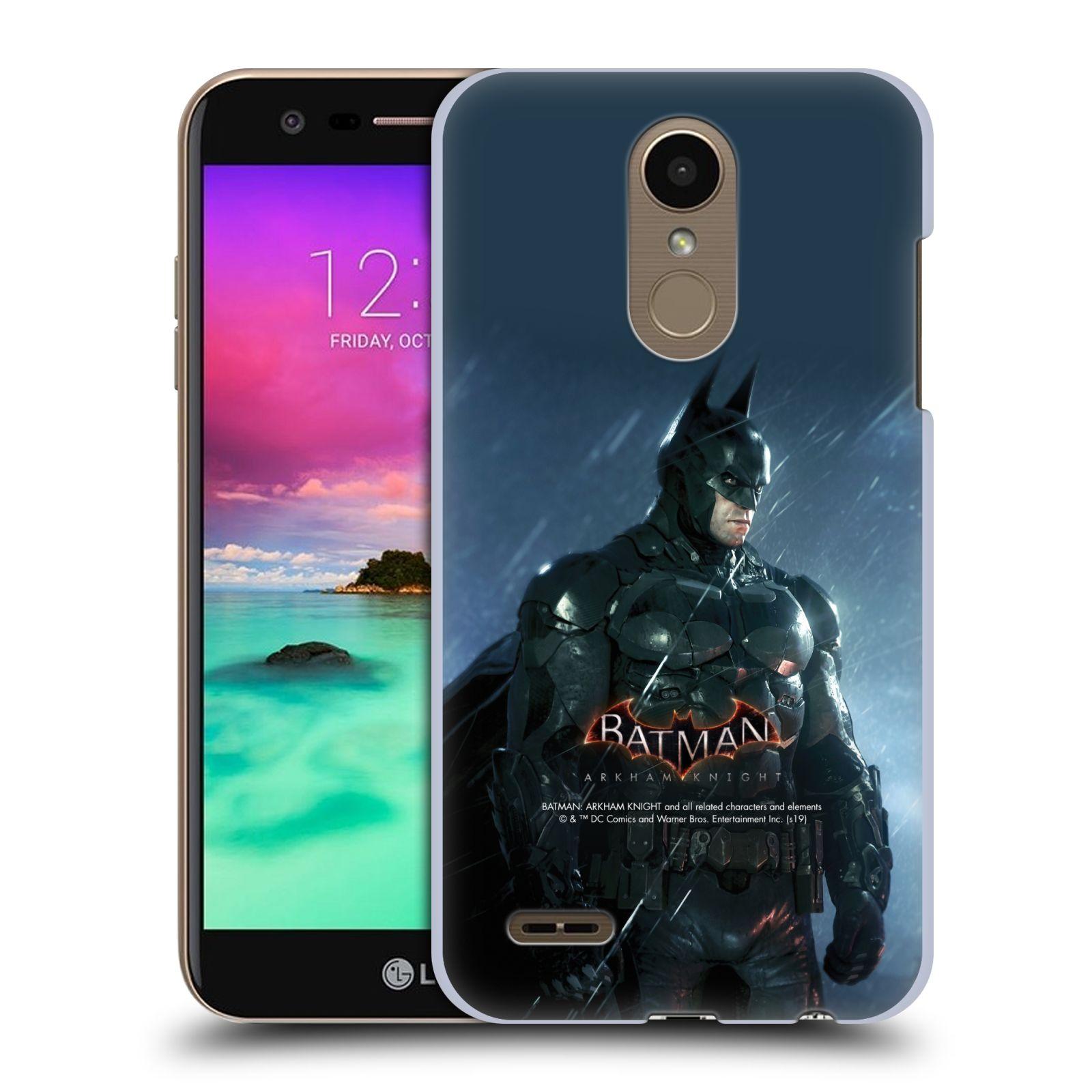 Pouzdro na mobil LG K10 2018 - HEAD CASE - Batman v dešti
