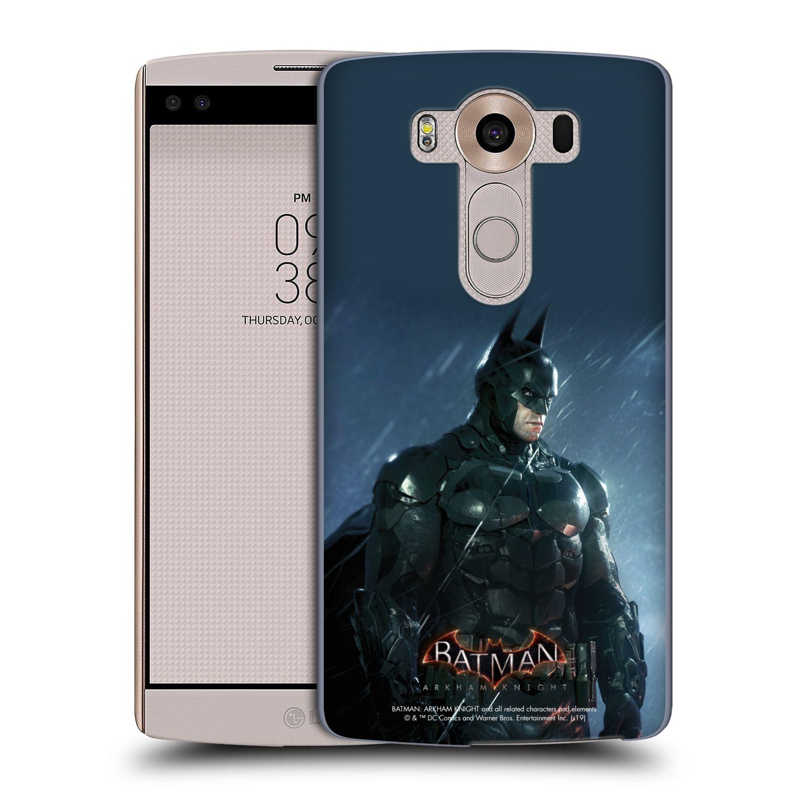 Pouzdro na mobil LG V10 - HEAD CASE - Batman v dešti