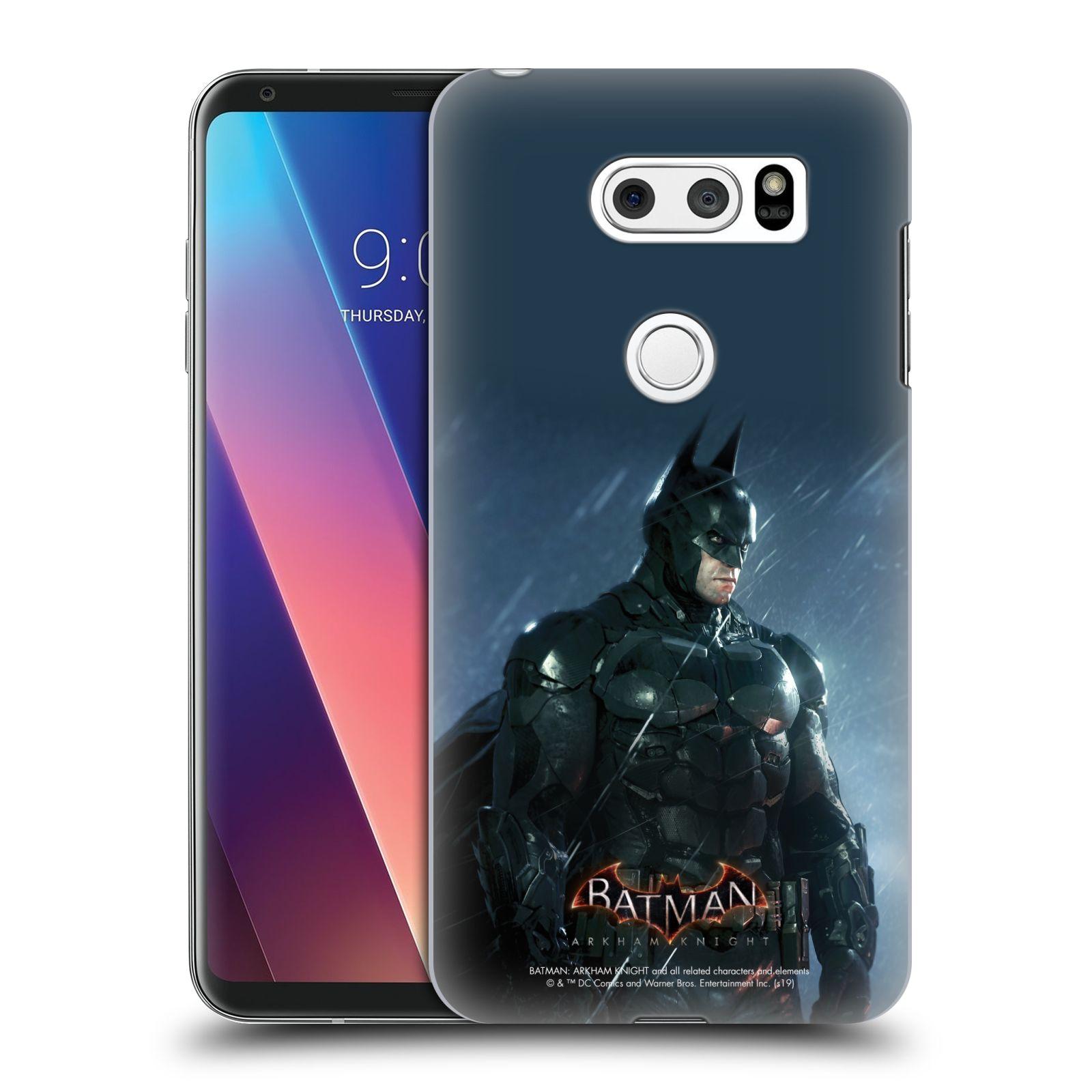 Pouzdro na mobil LG V30 - HEAD CASE - Batman v dešti
