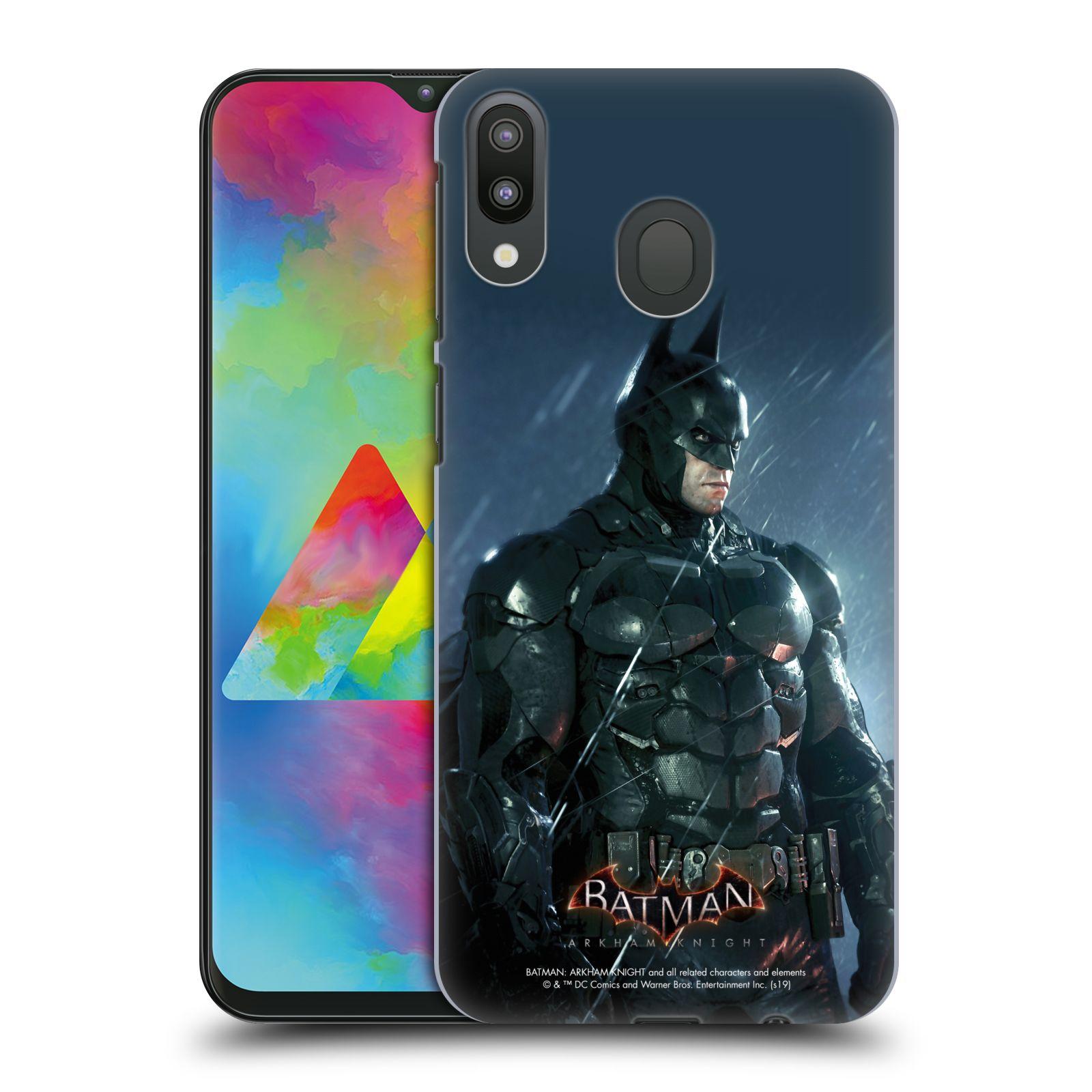 Pouzdro na mobil Samsung Galaxy M20 - HEAD CASE - Batman v dešti