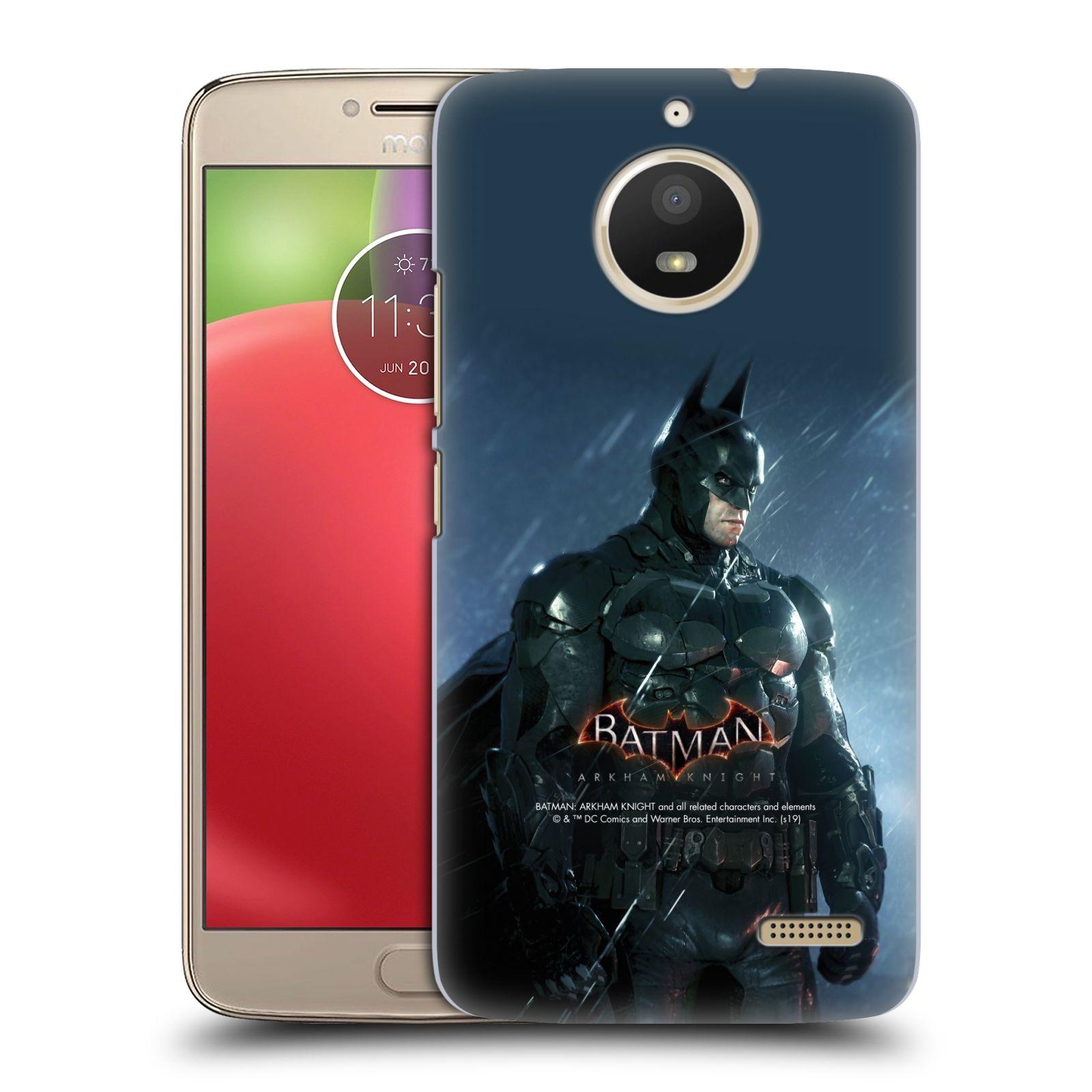 Pouzdro na mobil Lenovo Moto E4 - HEAD CASE - Batman v dešti