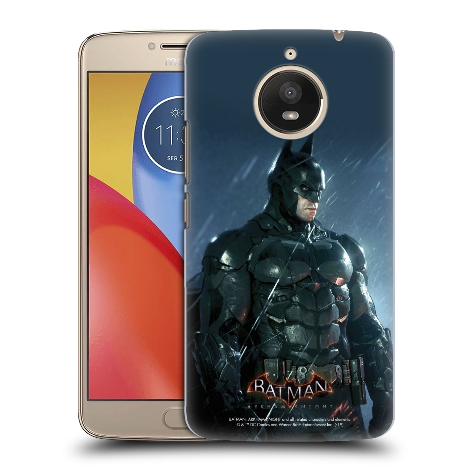Pouzdro na mobil Lenovo Moto E4 PLUS - HEAD CASE - Batman v dešti