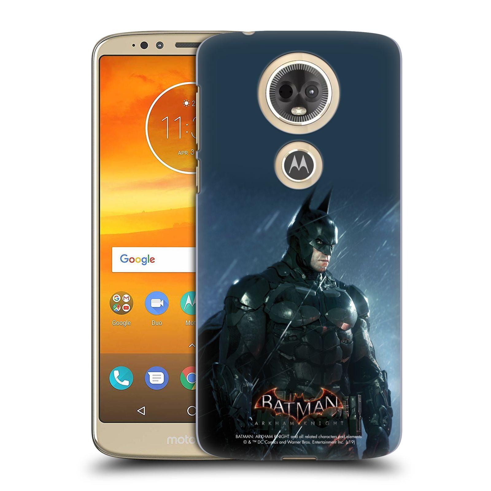 Pouzdro na mobil Motorola Moto E5 PLUS - HEAD CASE - Batman v dešti