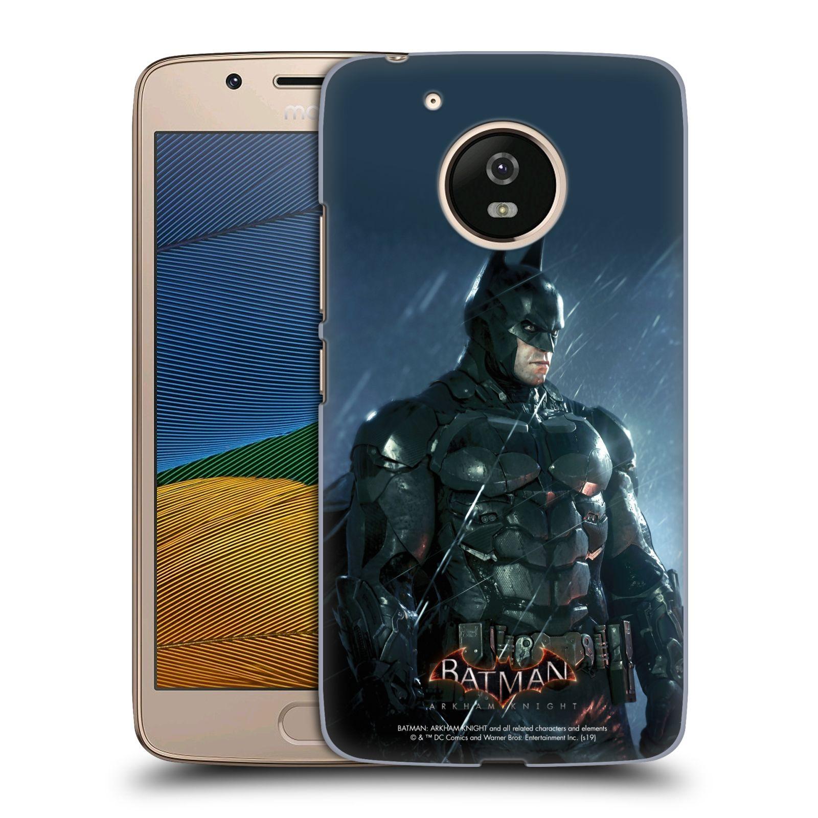 Pouzdro na mobil Lenovo Moto G5 - HEAD CASE - Batman v dešti