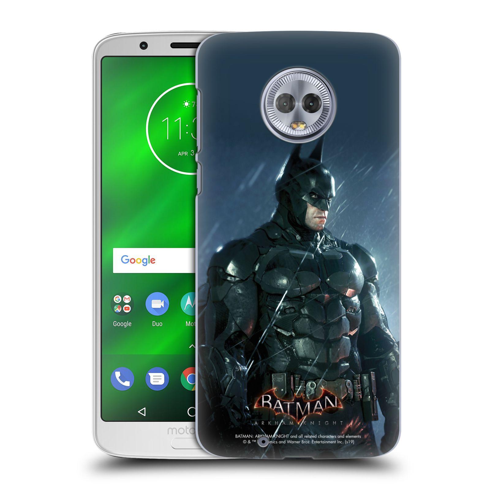 Pouzdro na mobil Motorola Moto G6 - HEAD CASE - Batman v dešti