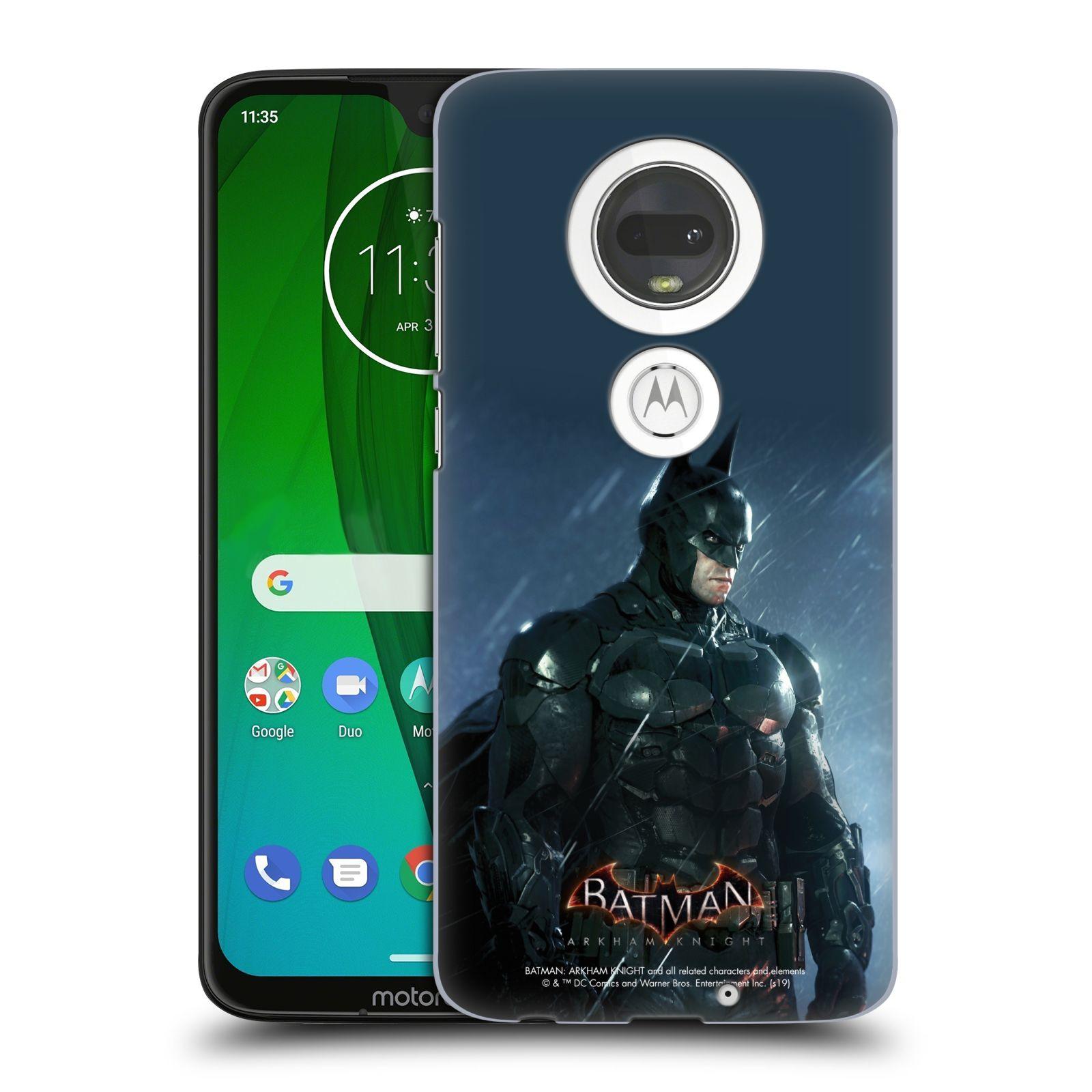 Pouzdro na mobil Motorola Moto G7 - HEAD CASE - Batman v dešti