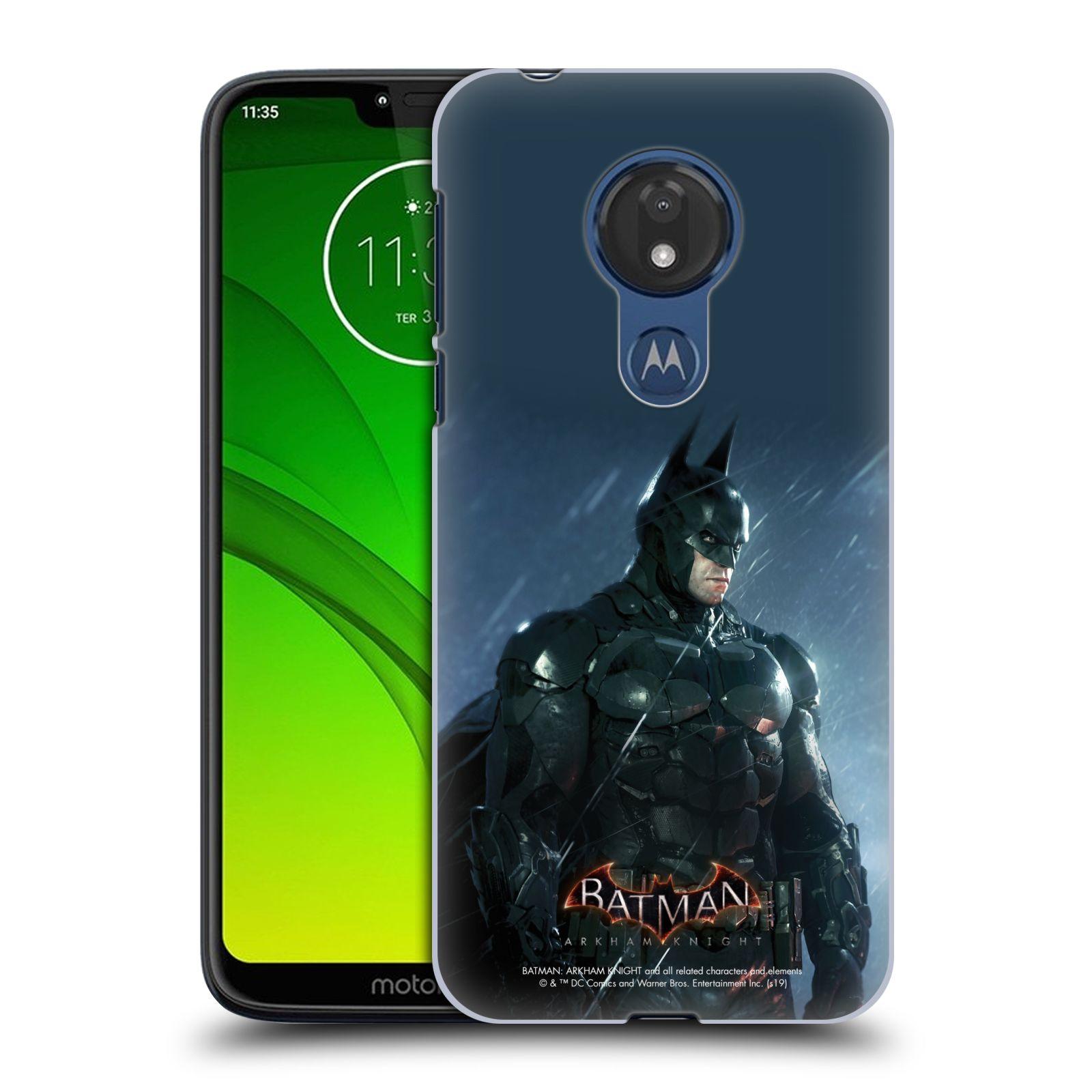 Pouzdro na mobil Motorola Moto G7 POWER - HEAD CASE - Batman v dešti